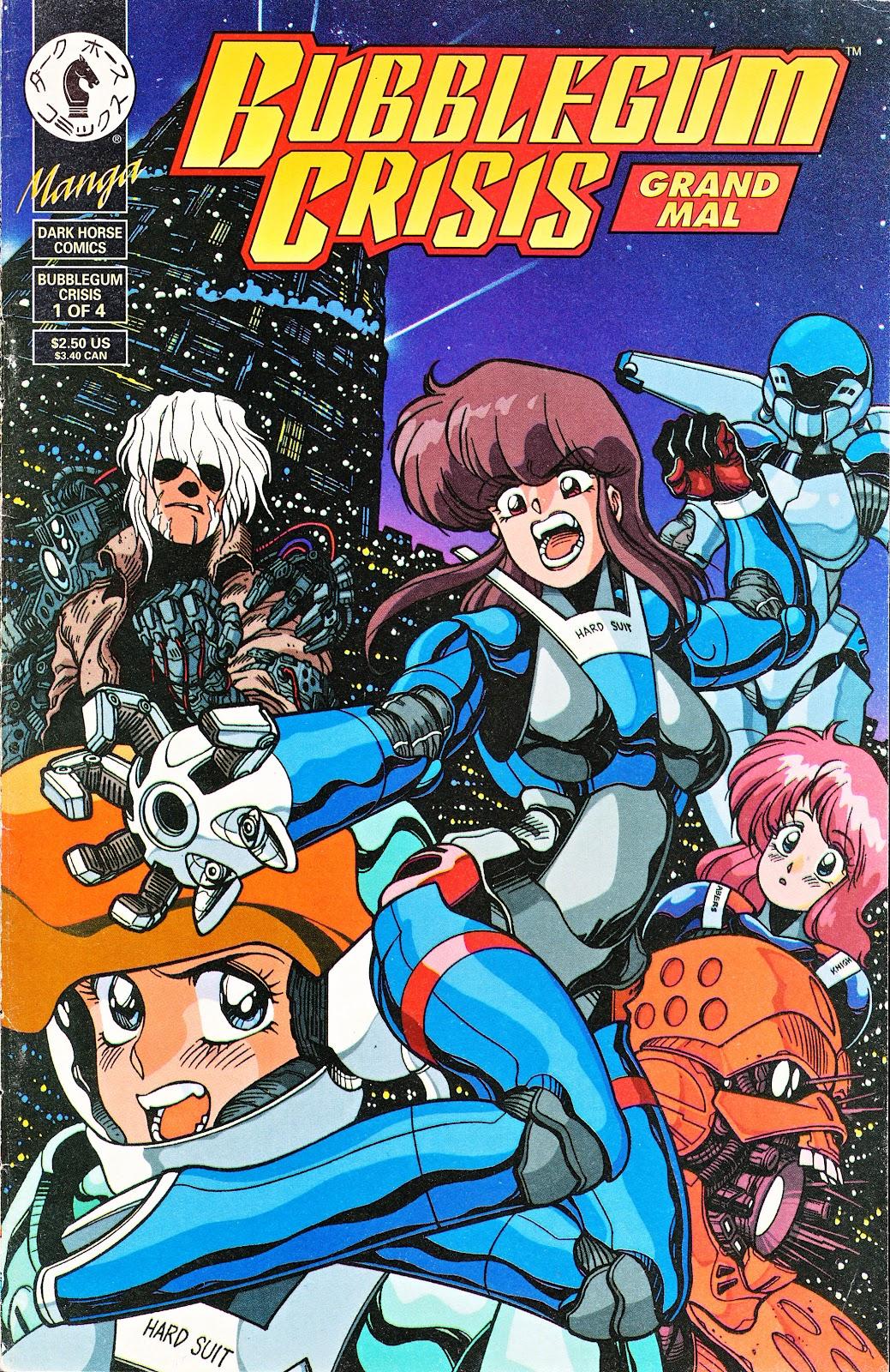 Bubblegum Crisis: Grand Mal issue 1 - Page 1