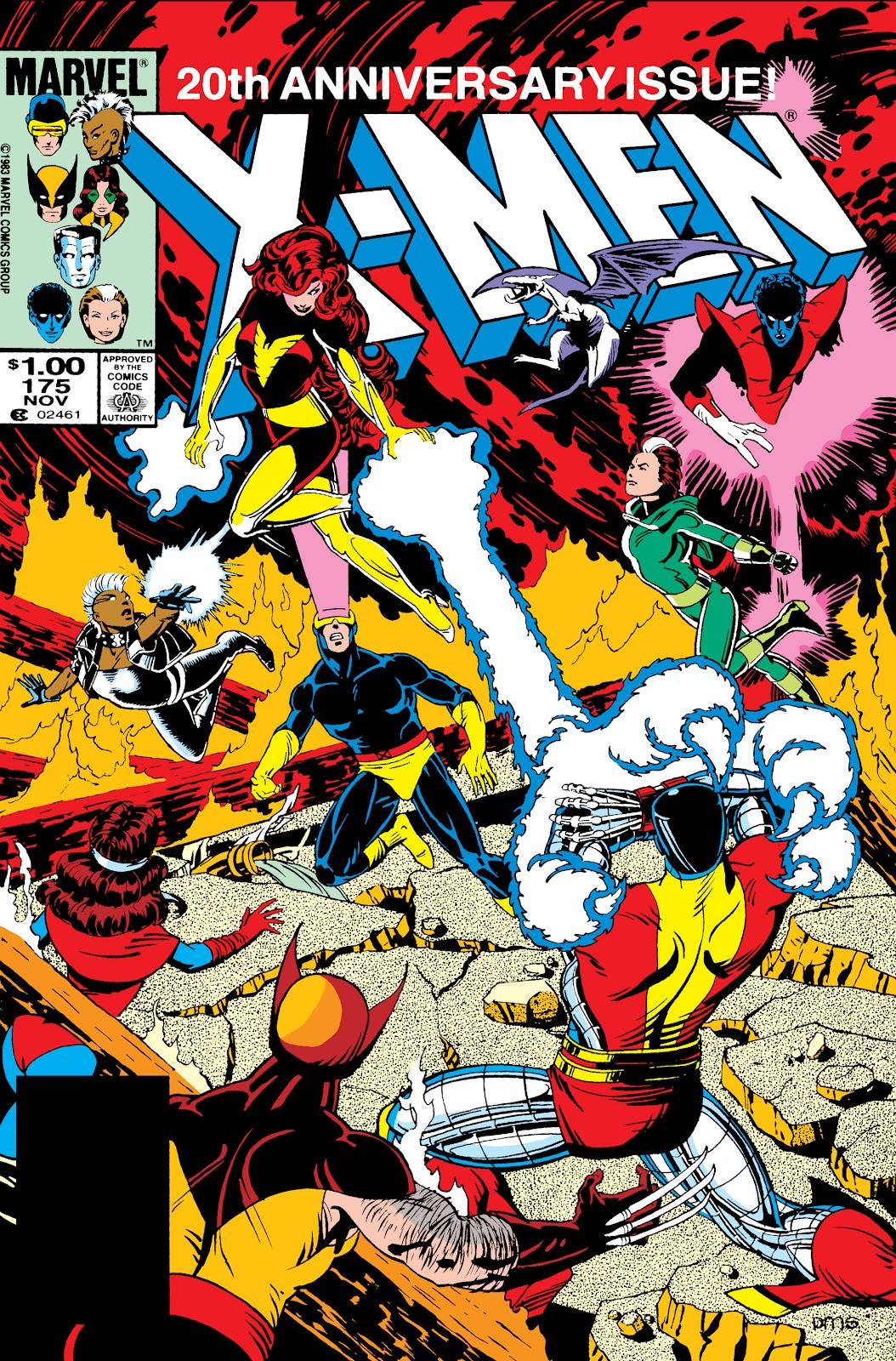 Uncanny X-Men (1963) 175 Page 1