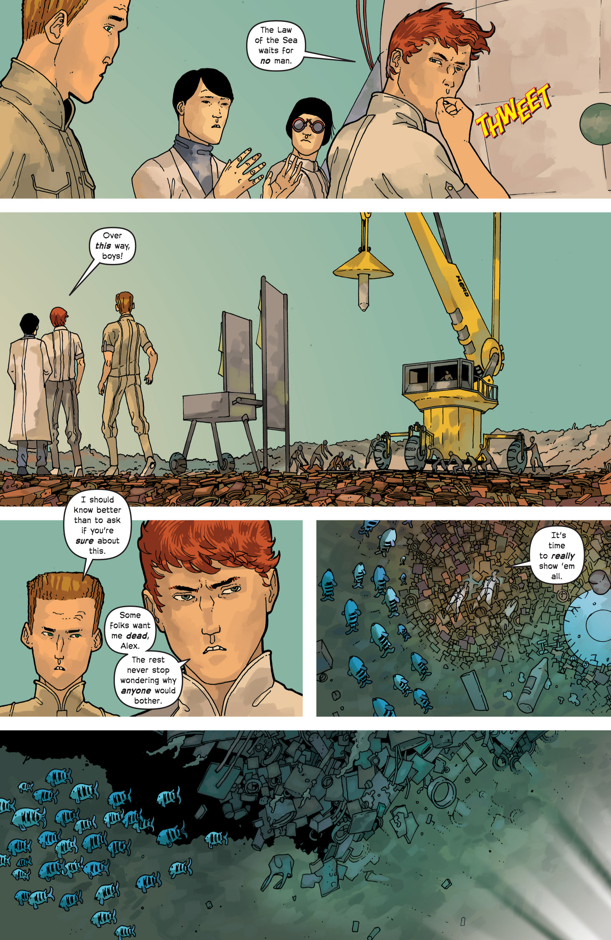 Read online Great Pacific comic -  Issue #8 - 23