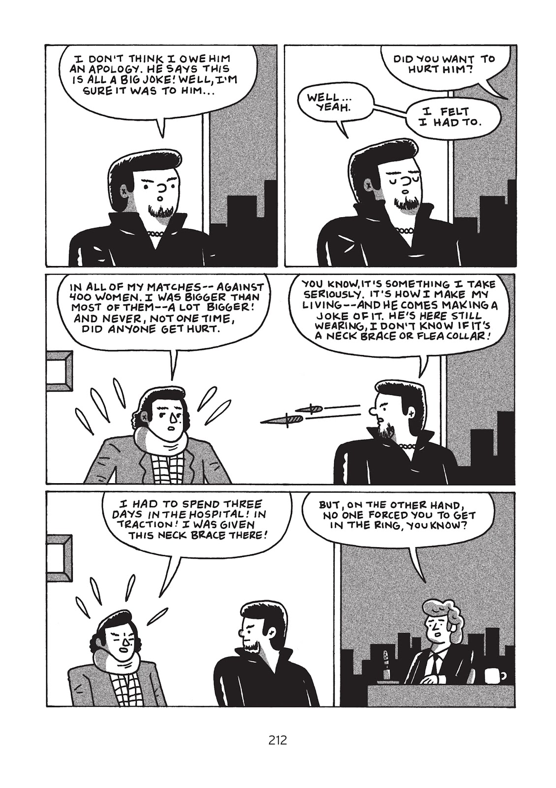Read online Is This Guy For Real?: The Unbelievable Andy Kaufman comic -  Issue # TPB (Part 3) - 17