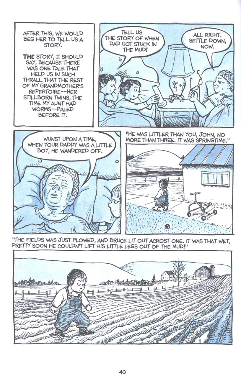 Read online Fun Home: A Family Tragicomic comic -  Issue # TPB - 47