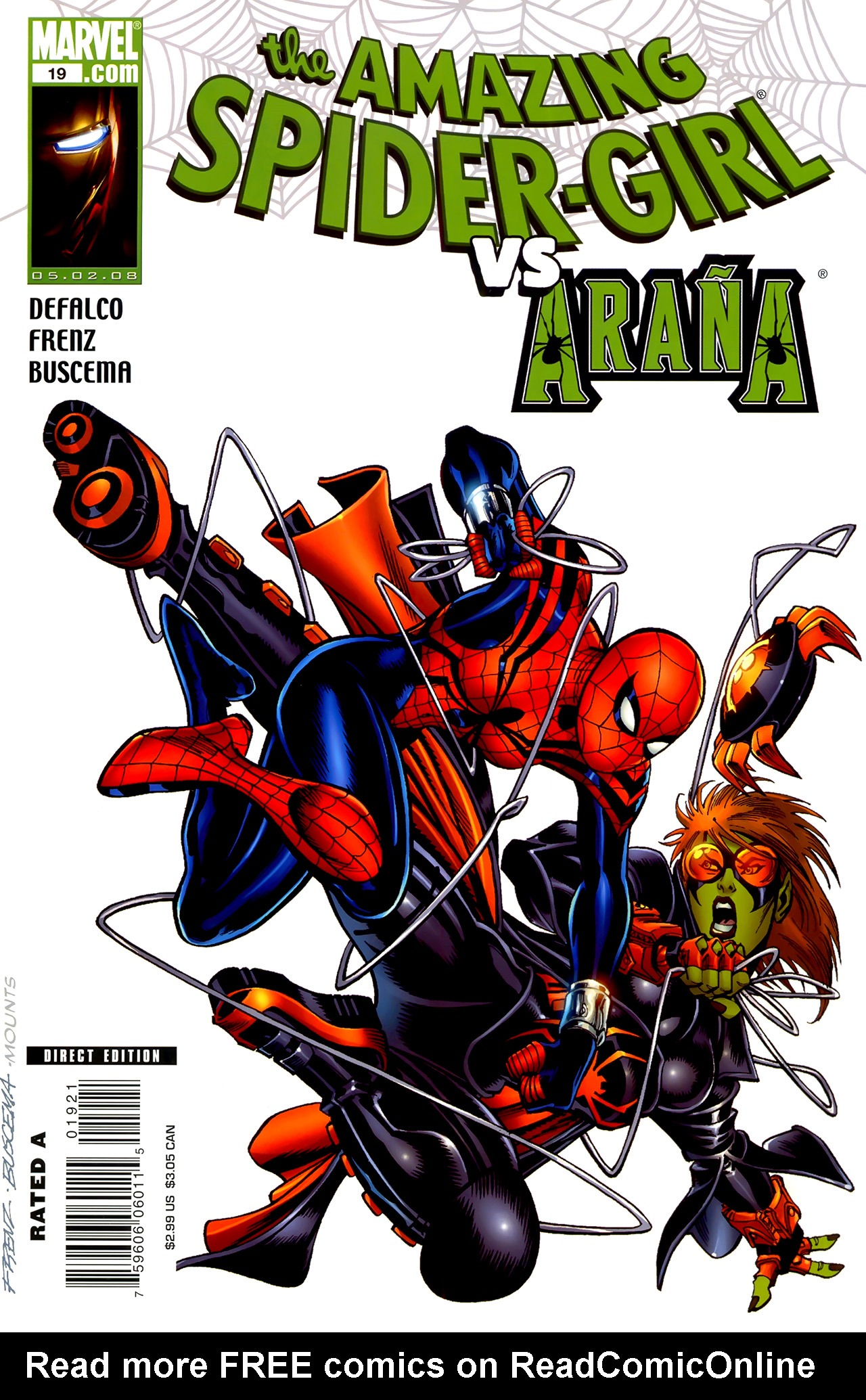 Read online Amazing Spider-Girl comic -  Issue #19 - 2