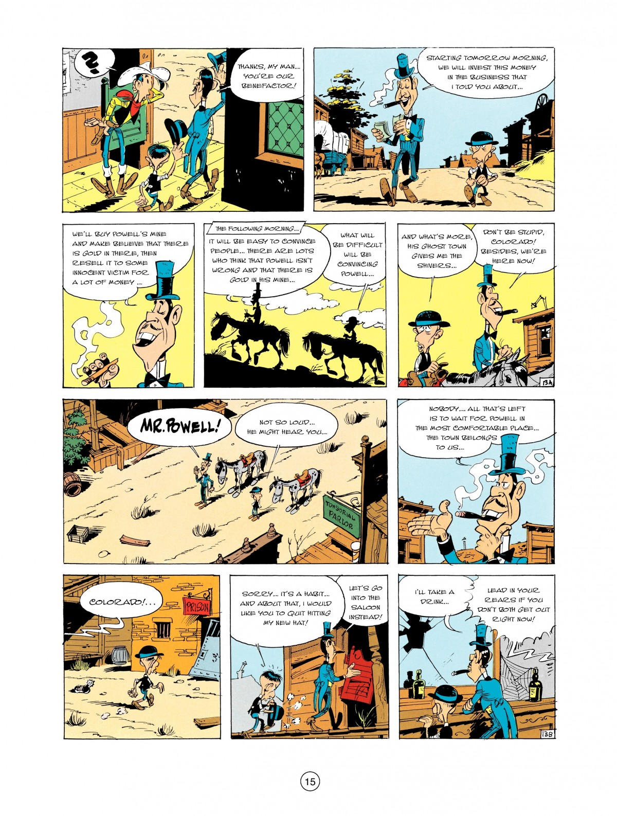 Read online A Lucky Luke Adventure comic -  Issue #2 - 17