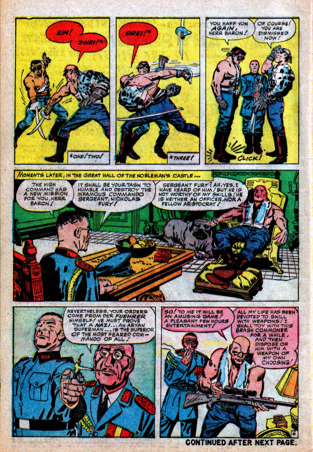 Read online Sgt. Fury comic -  Issue #5 - 8