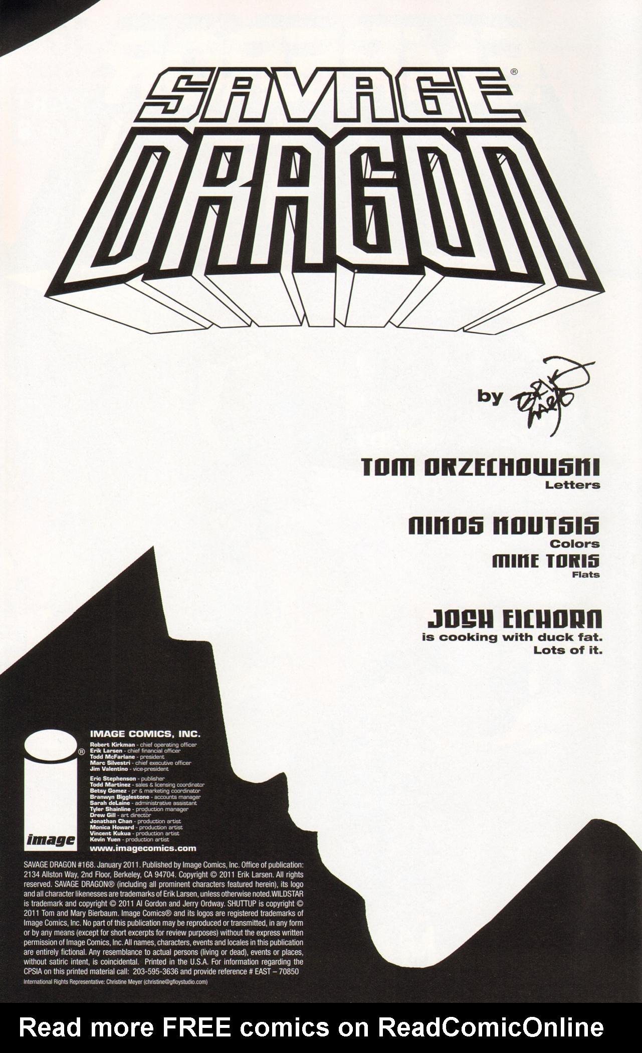 The Savage Dragon (1993) 168 Page 2