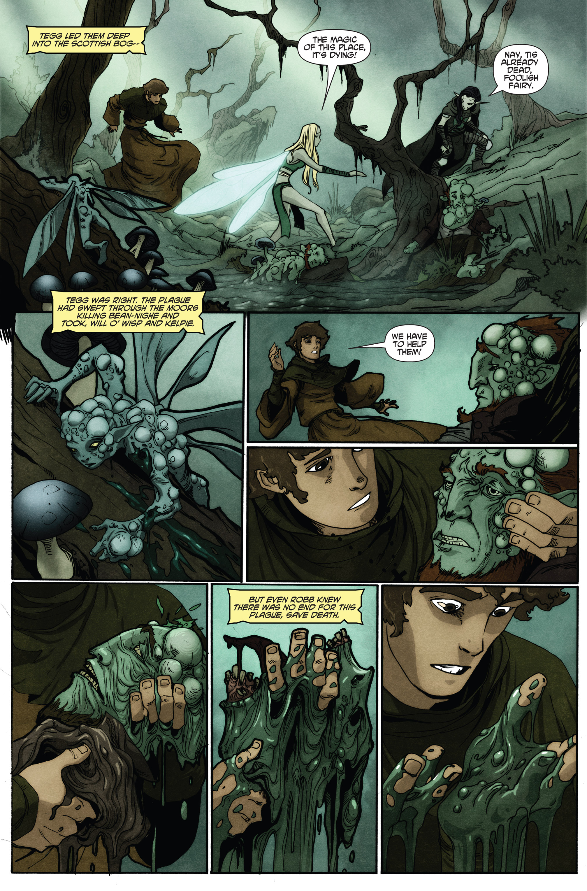 Read online Plague comic -  Issue #2 - 20
