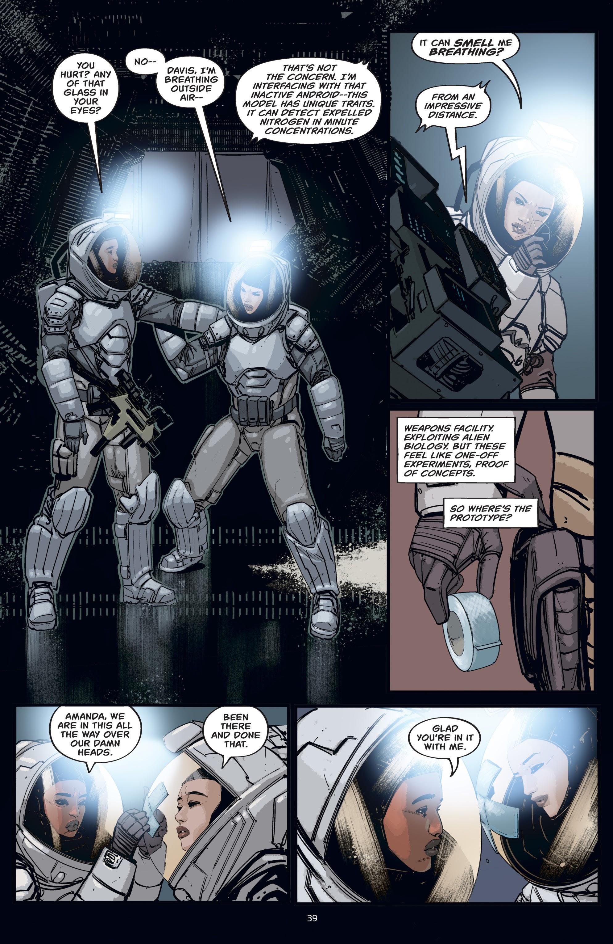 Read online Aliens: Resistance comic -  Issue # _TPB - 39