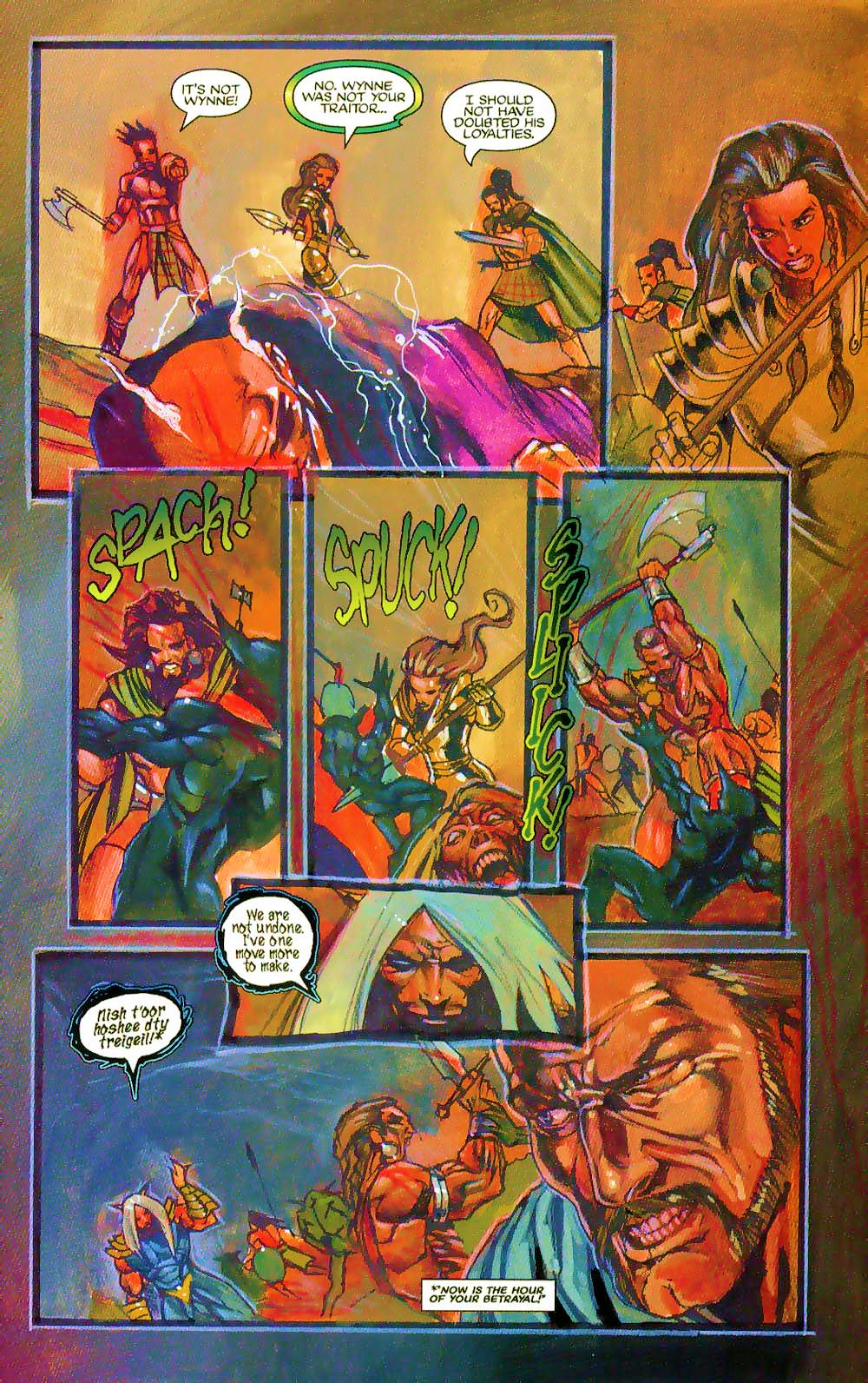 More Than Mortal: Sagas issue 3 - Page 21