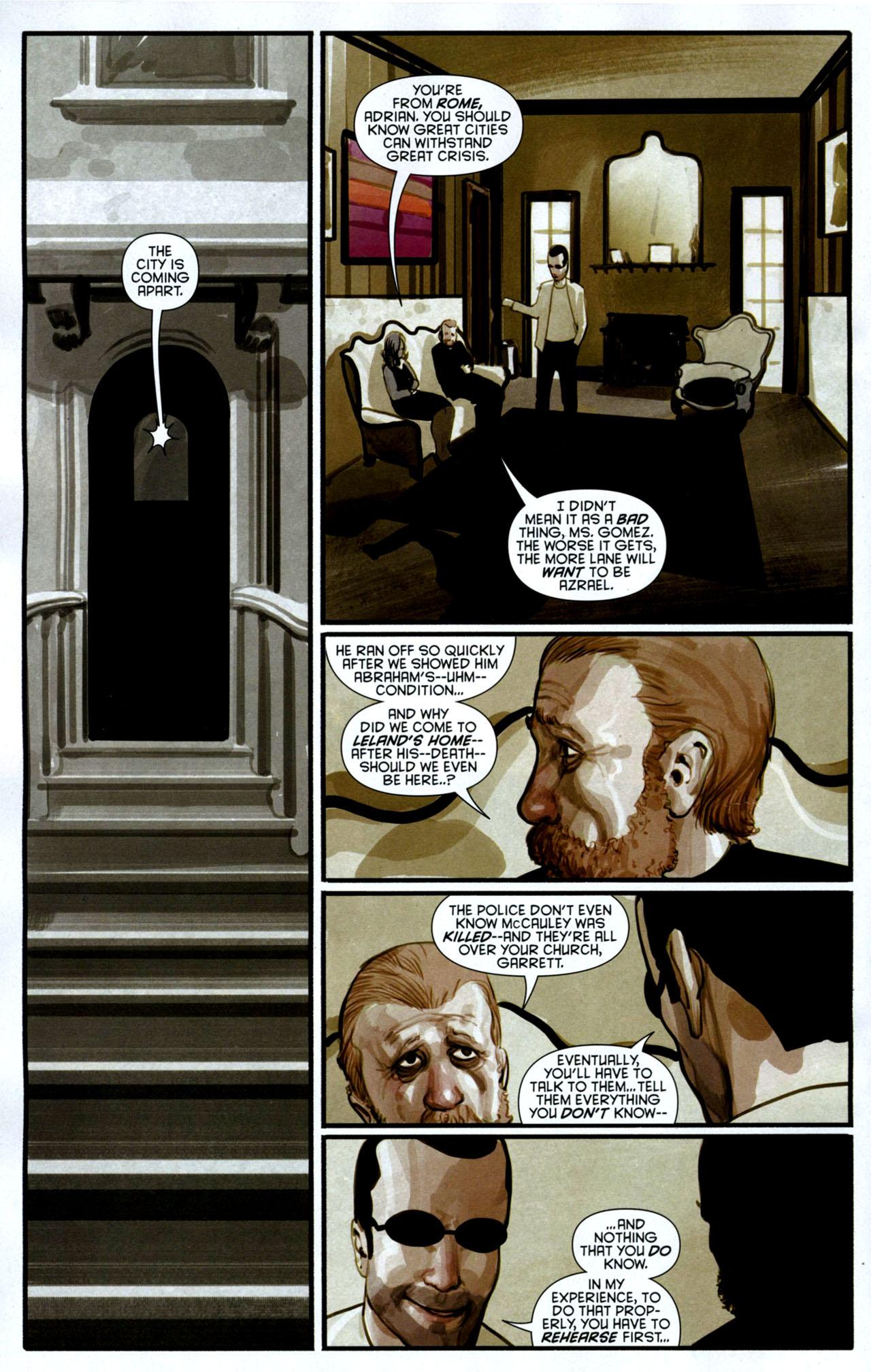 Read online Azrael: Death's Dark Knight comic -  Issue #3 - 10