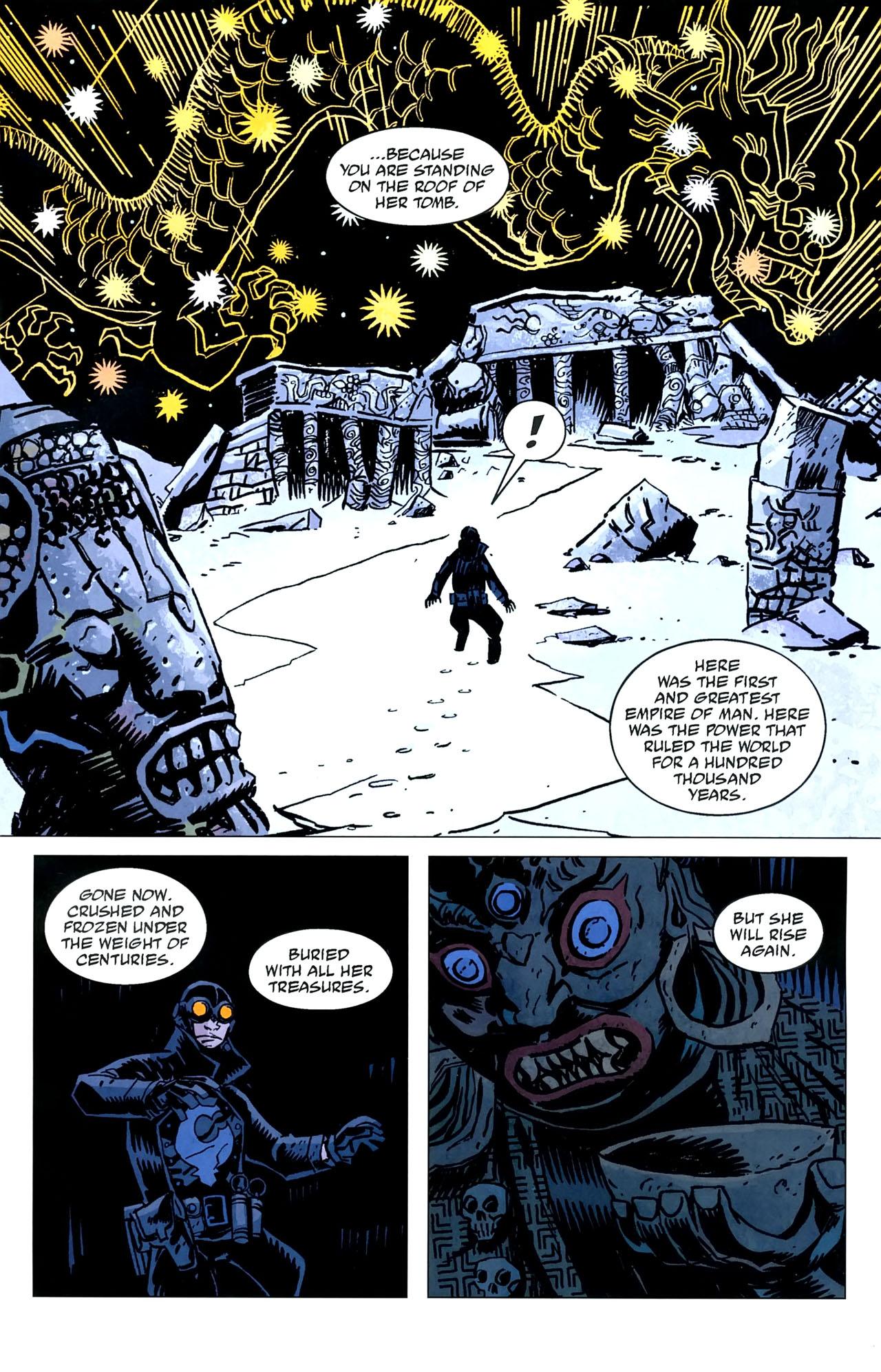 Read online Lobster Johnson: The Iron Prometheus comic -  Issue #5 - 5
