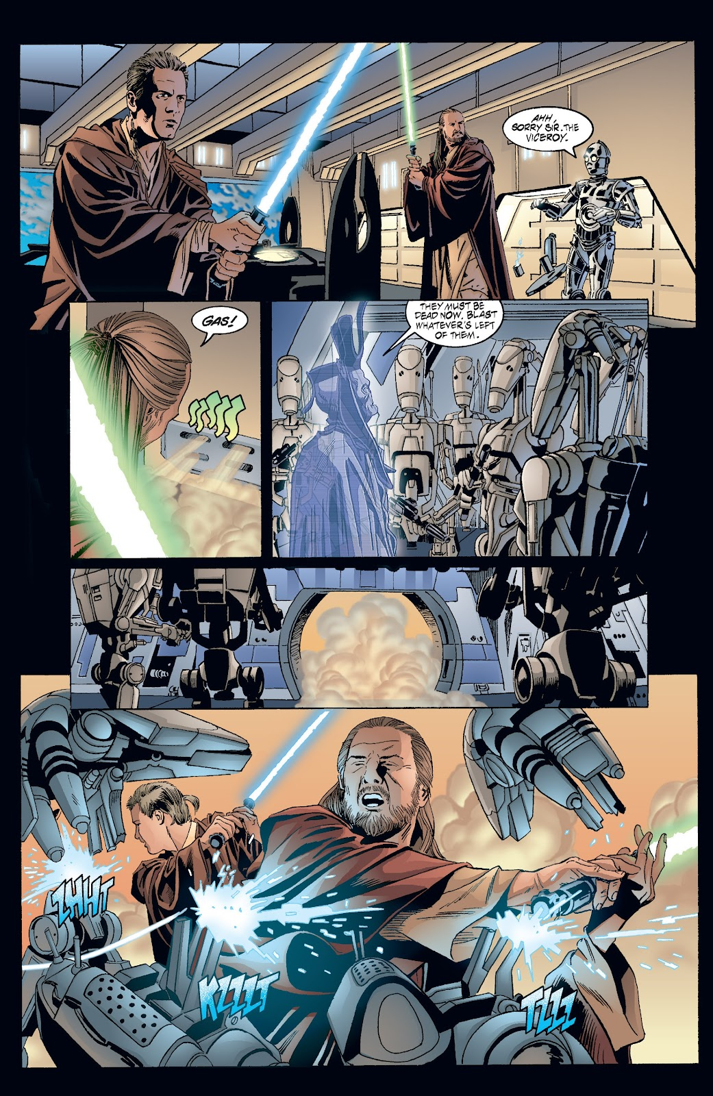 Read online Star Wars Legends: Rise of the Sith - Epic Collection comic -  Issue # TPB 2 (Part 3) - 43