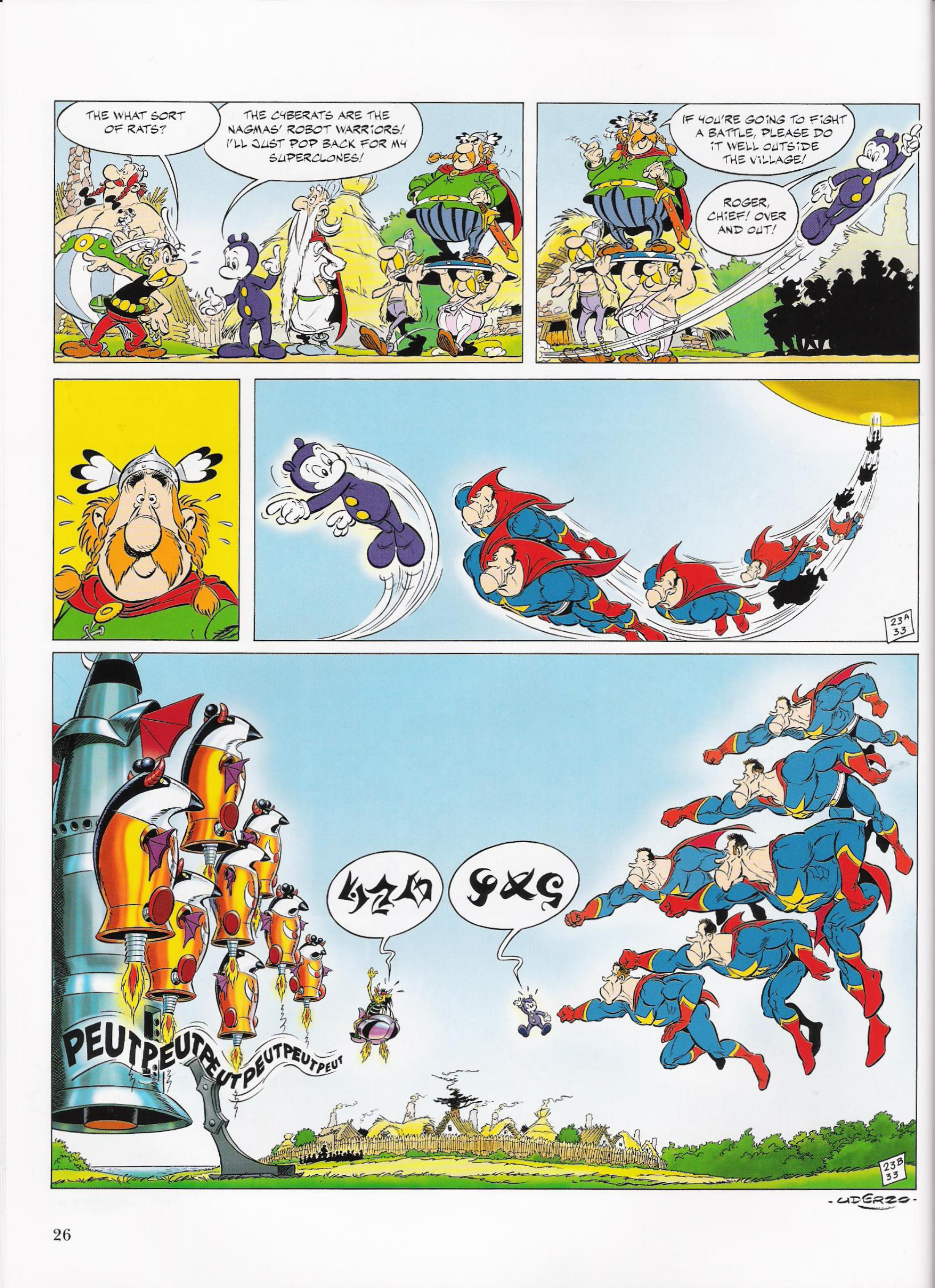 Read online Asterix comic -  Issue #33 - 26