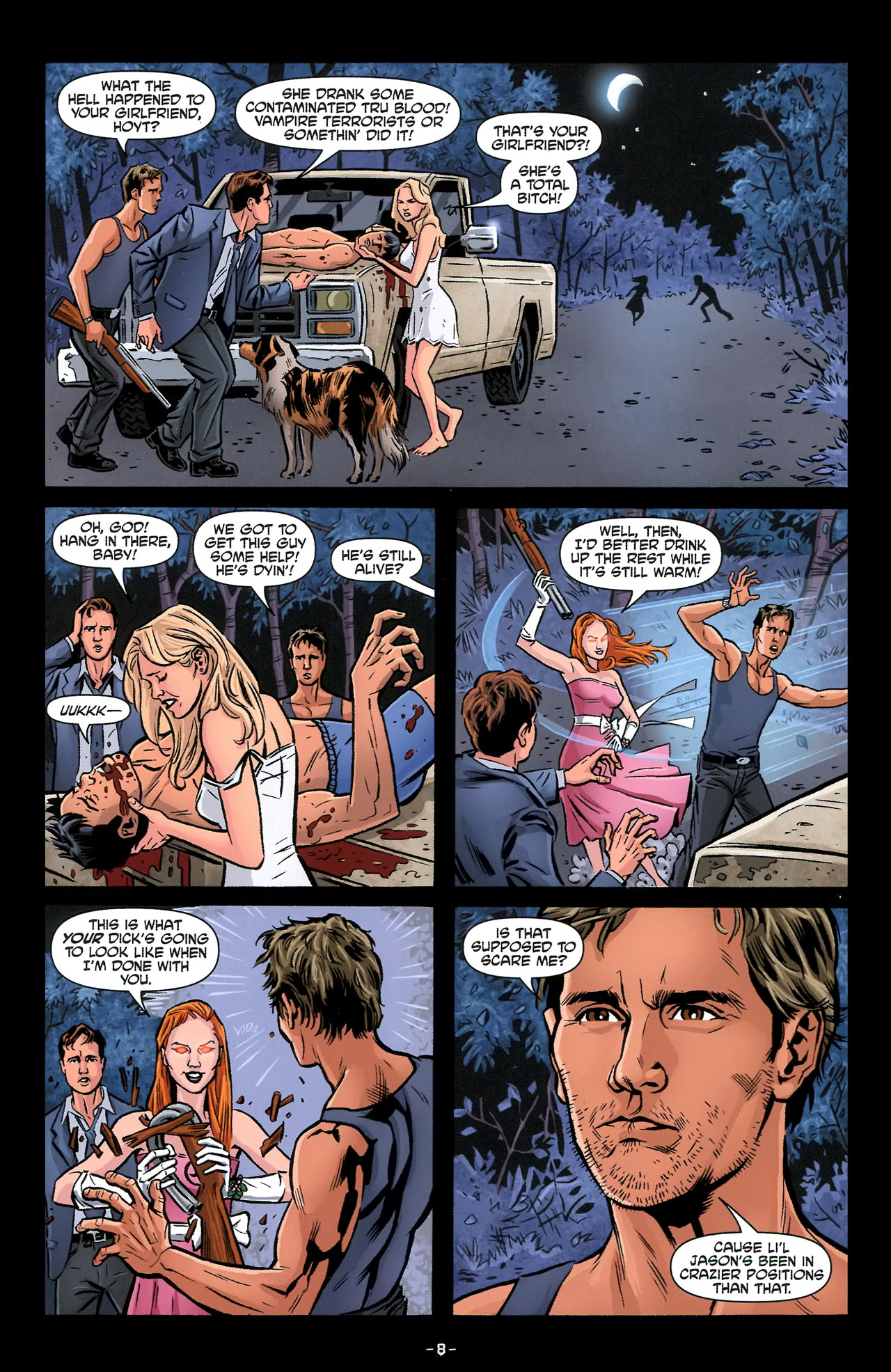 Read online True Blood: Tainted Love comic -  Issue #3 - 11