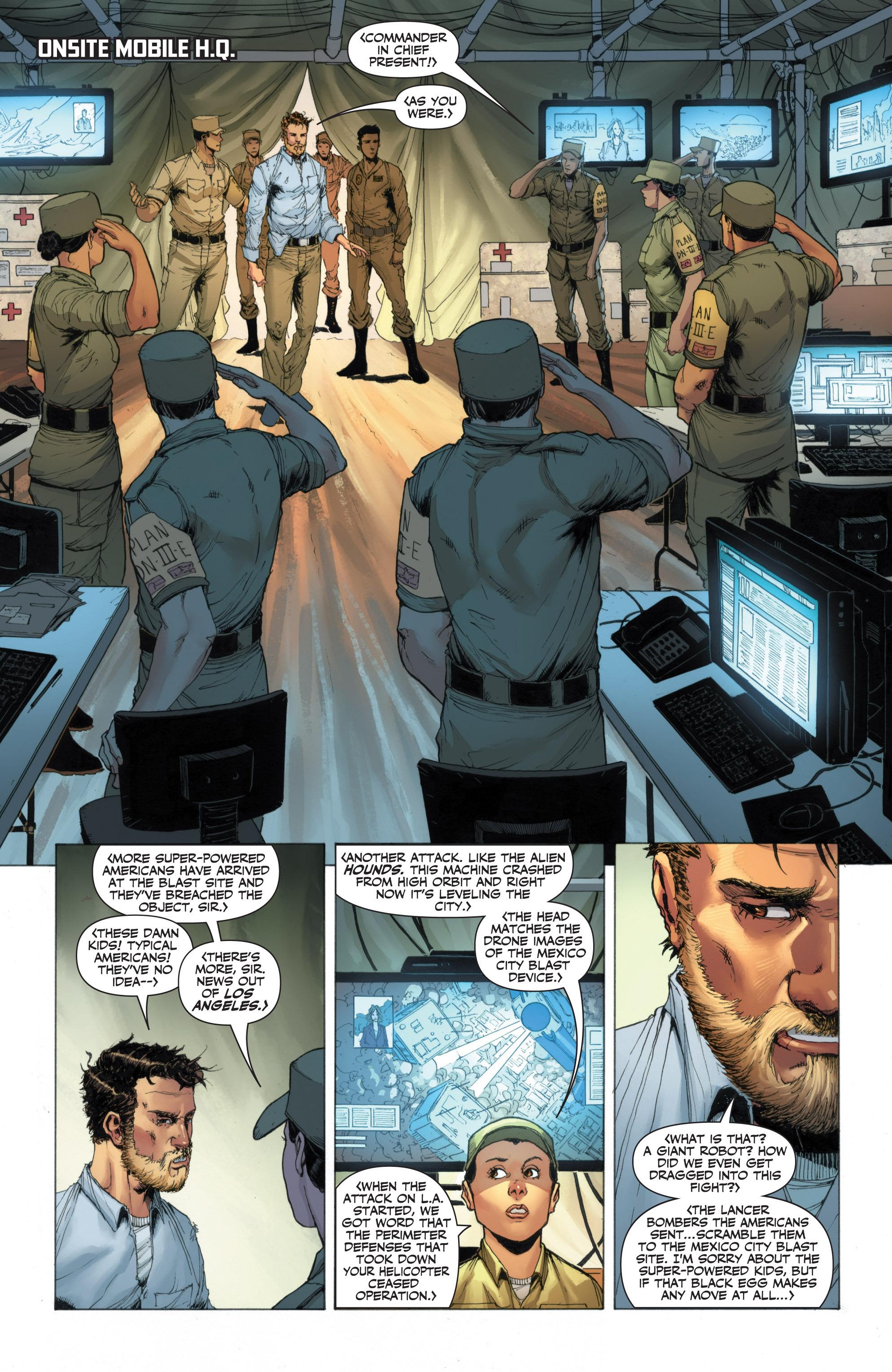 Read online Armor Hunters: Harbinger comic -  Issue # TPB - 45