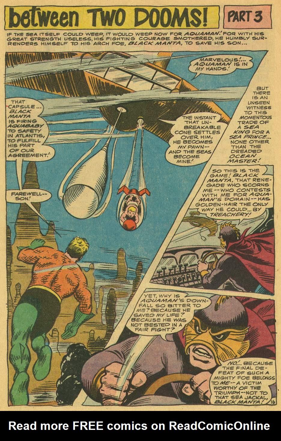 Read online Aquaman (1962) comic -  Issue #35 - 24