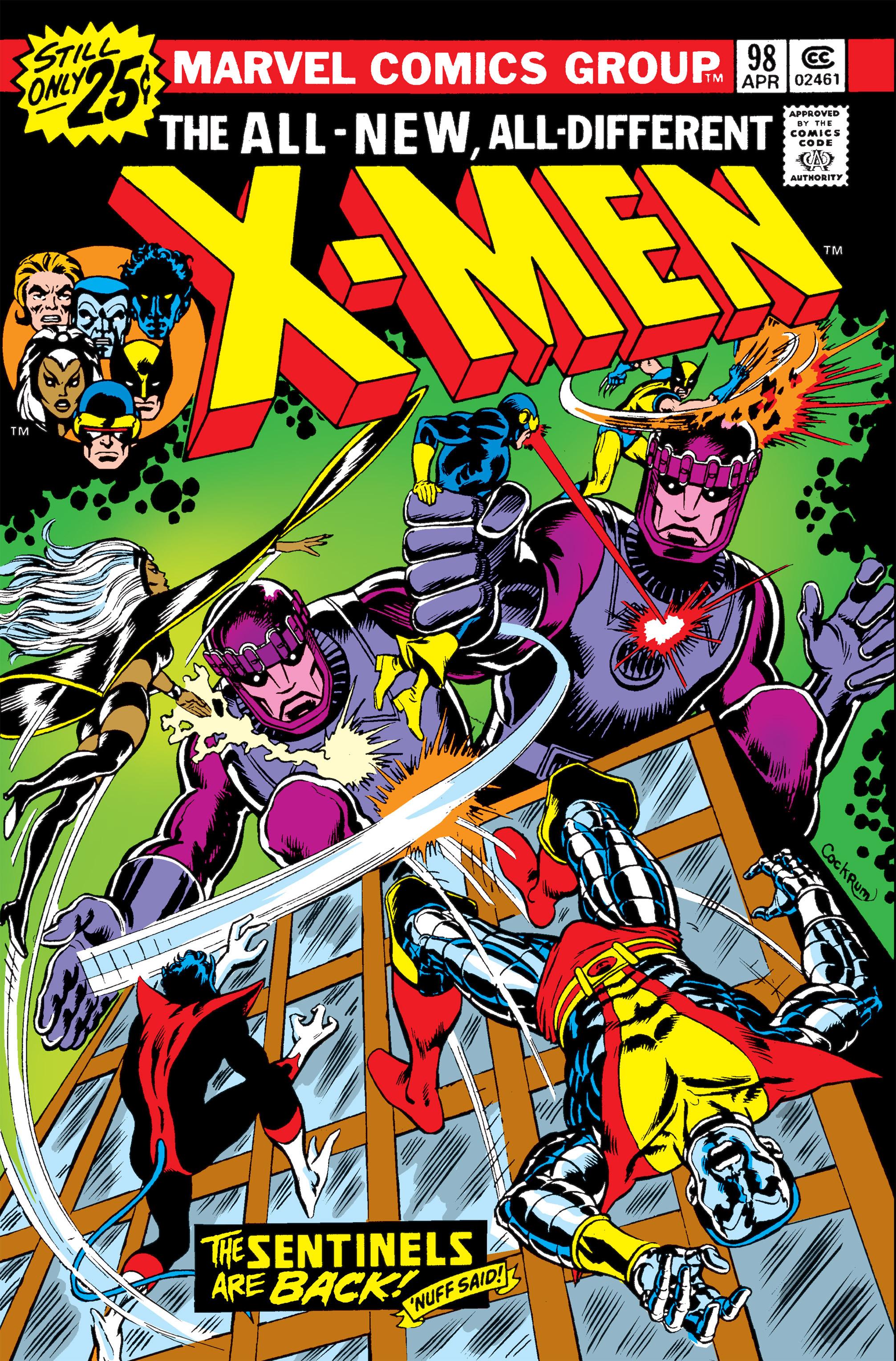 Uncanny X-Men (1963) 98 Page 1