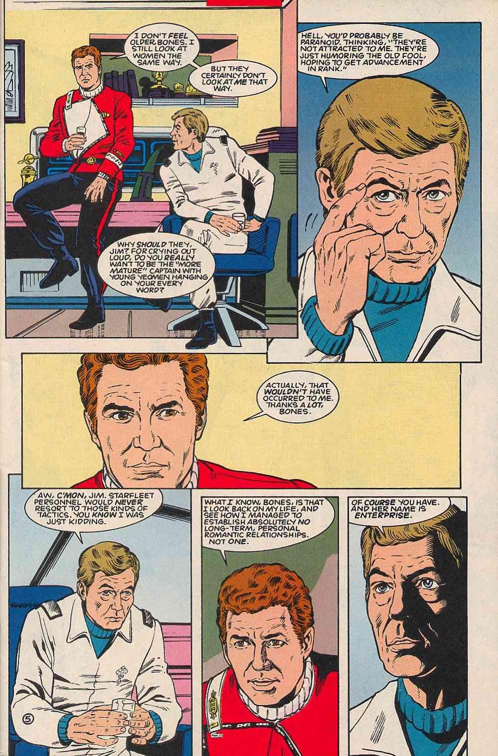 Read online Star Trek (1989) comic -  Issue # _Special 1 - 7