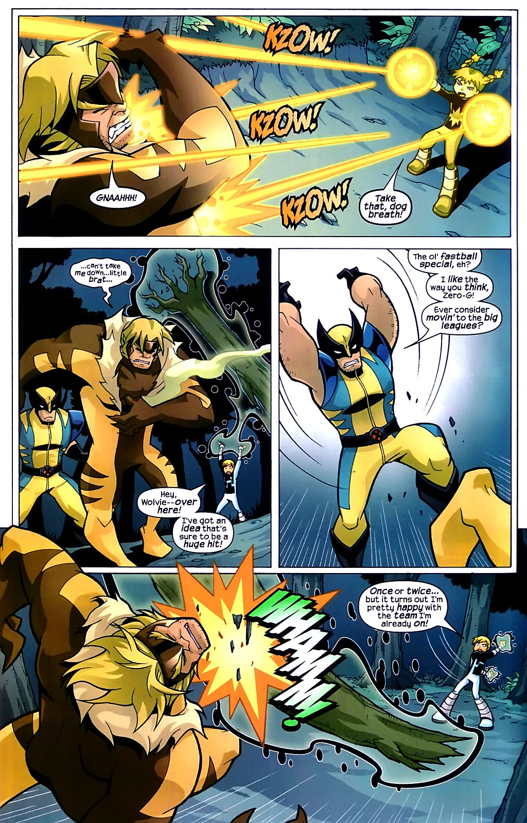 Read online X-Men and Power Pack comic -  Issue #1 - 20