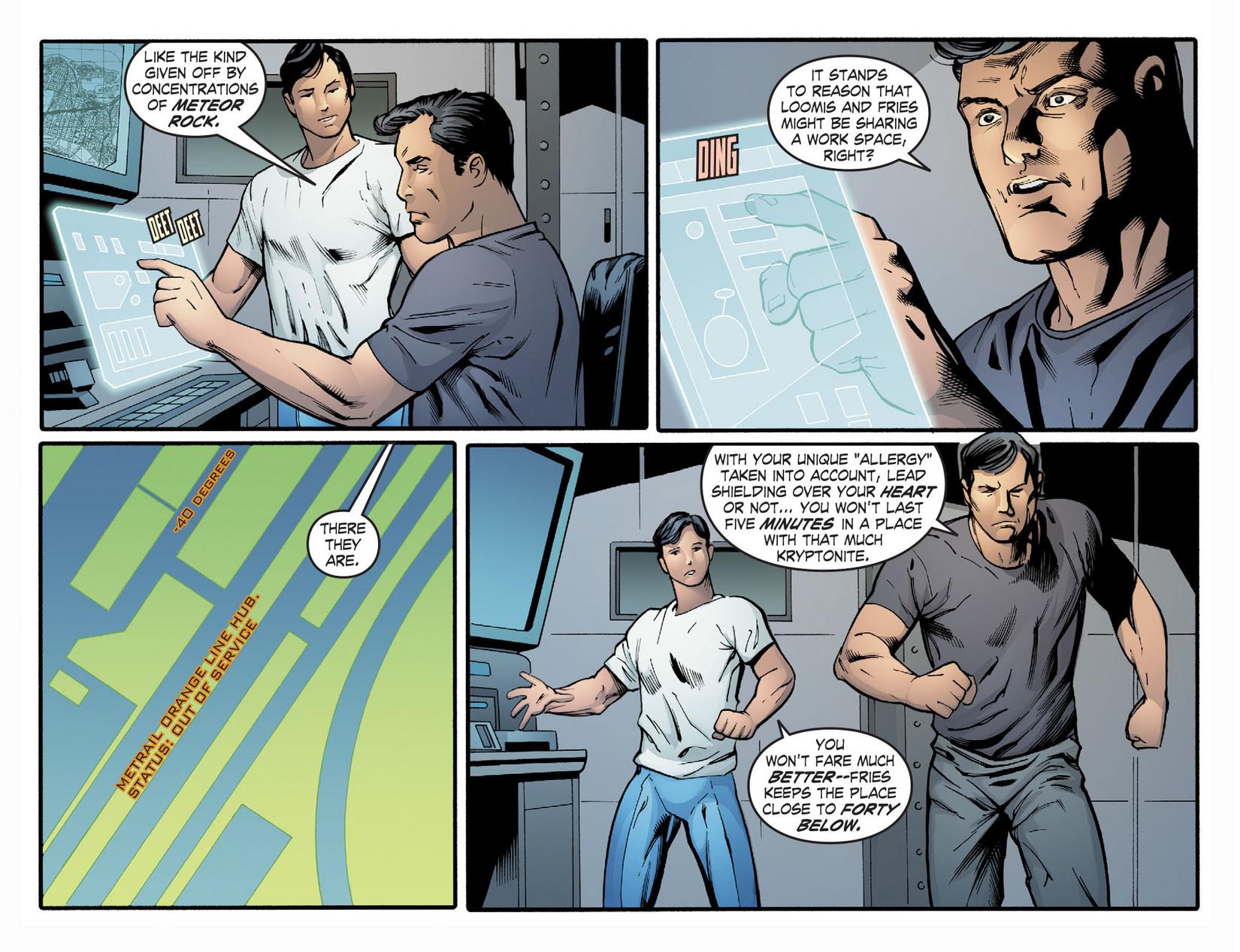 Read online Smallville: Season 11 comic -  Issue #22 - 14