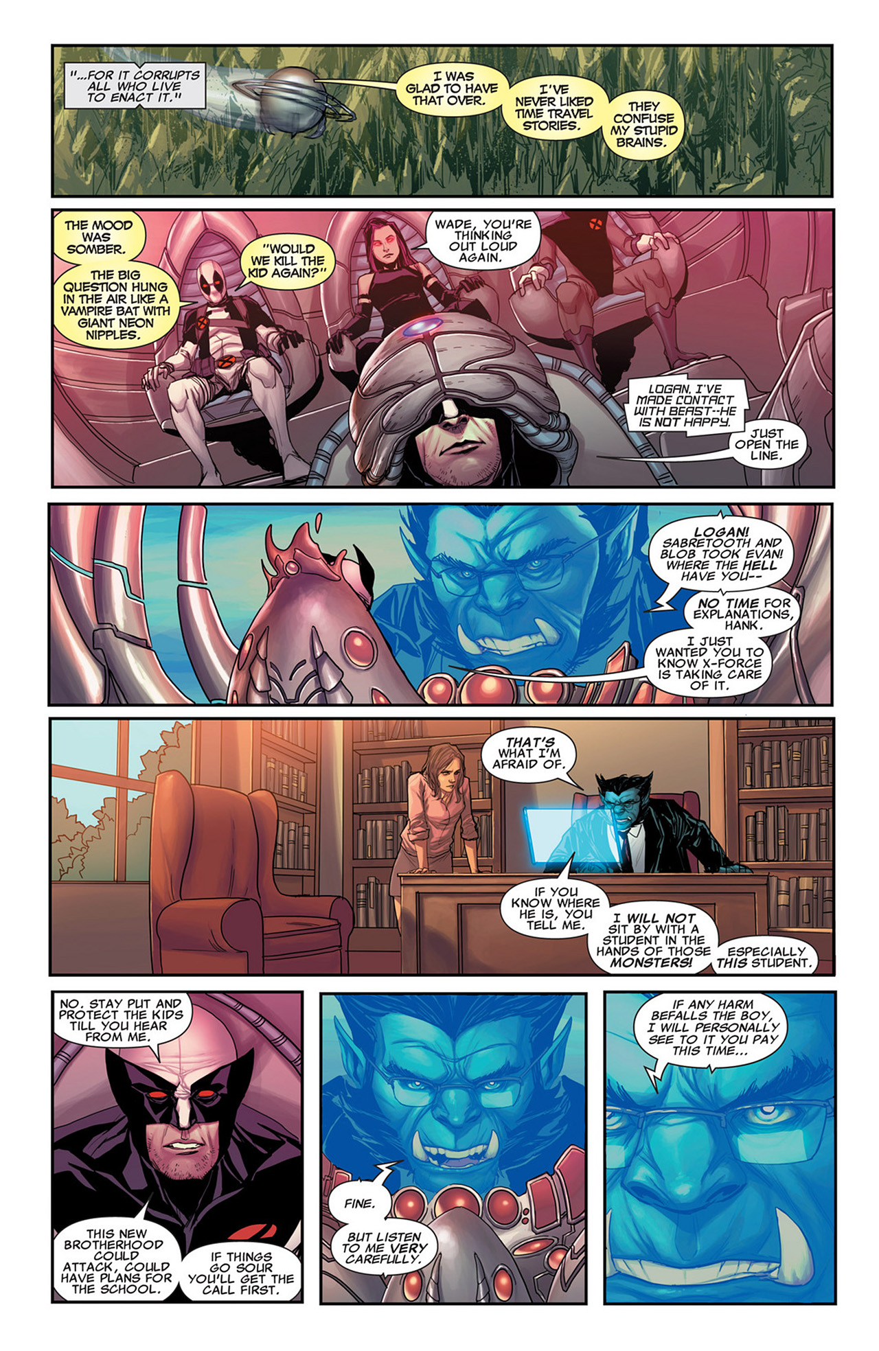 Read online Uncanny X-Force (2010) comic -  Issue #31 - 7