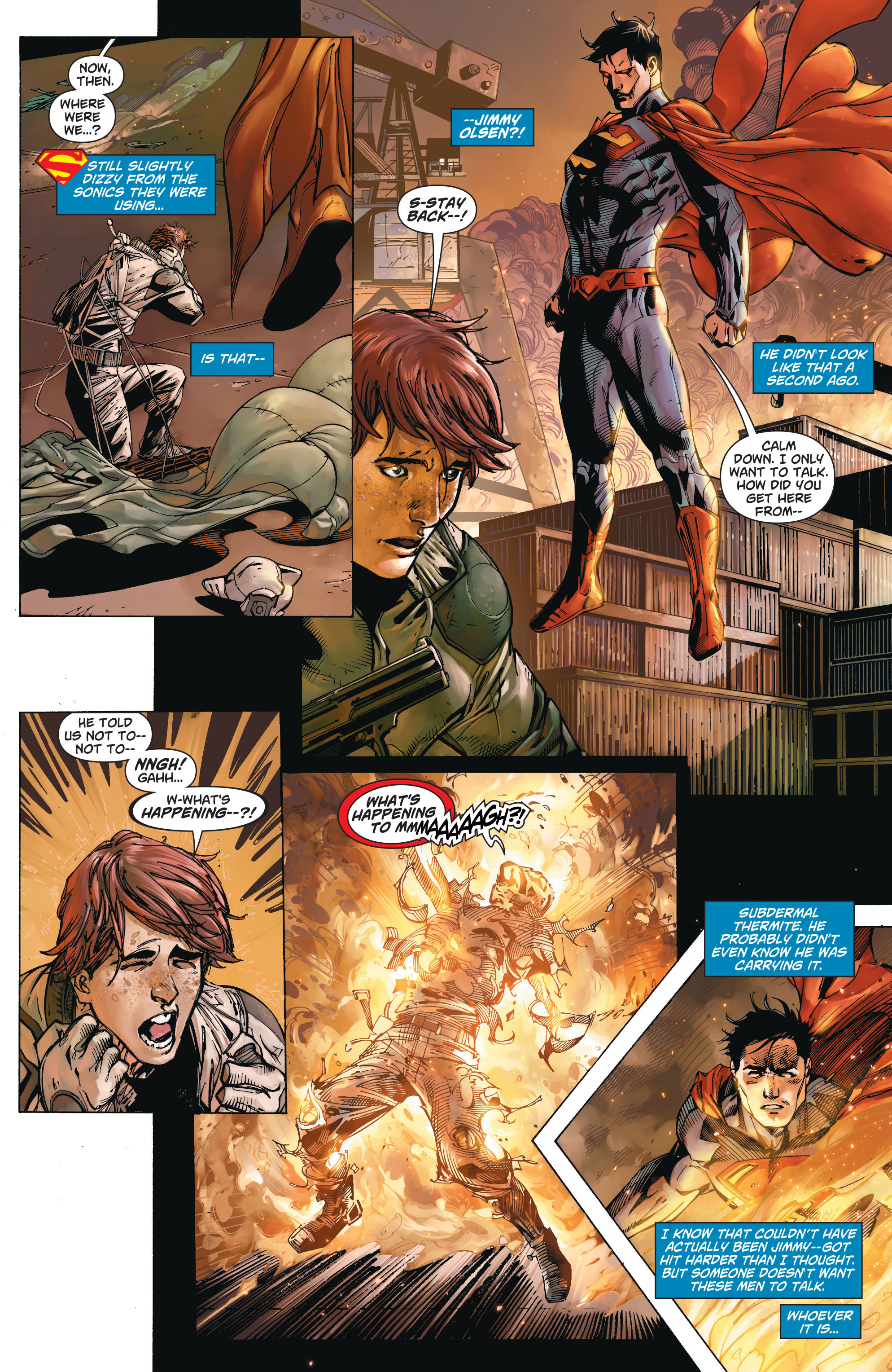 Read online Action Comics (2011) comic -  Issue #19 - 18