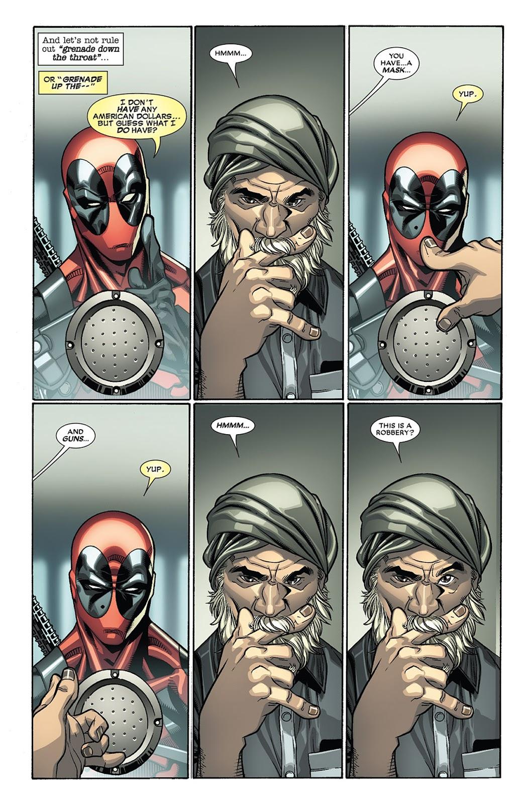 Read online Deadpool (2008) comic -  Issue #27 - 4