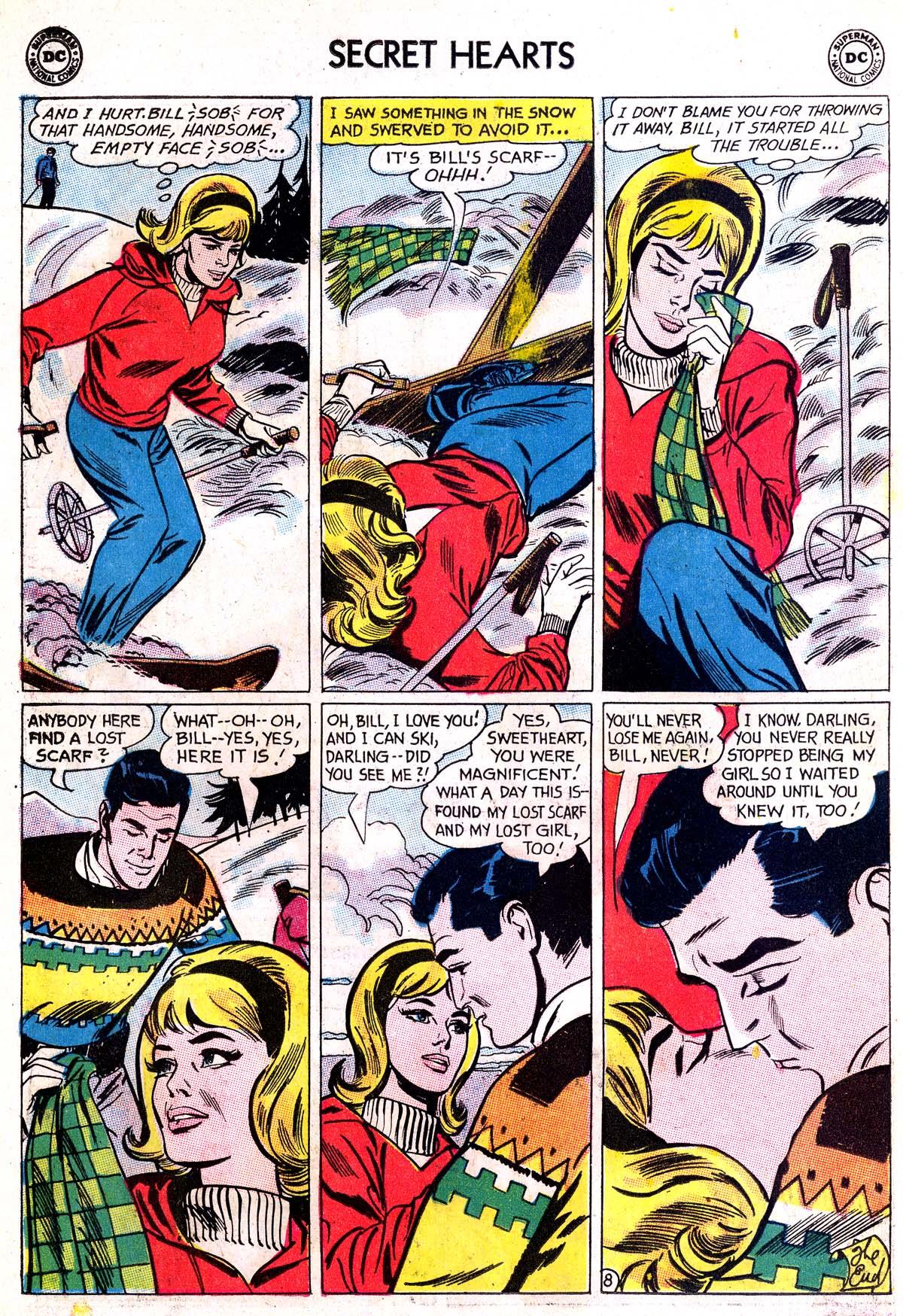 Read online Secret Hearts comic -  Issue #87 - 10