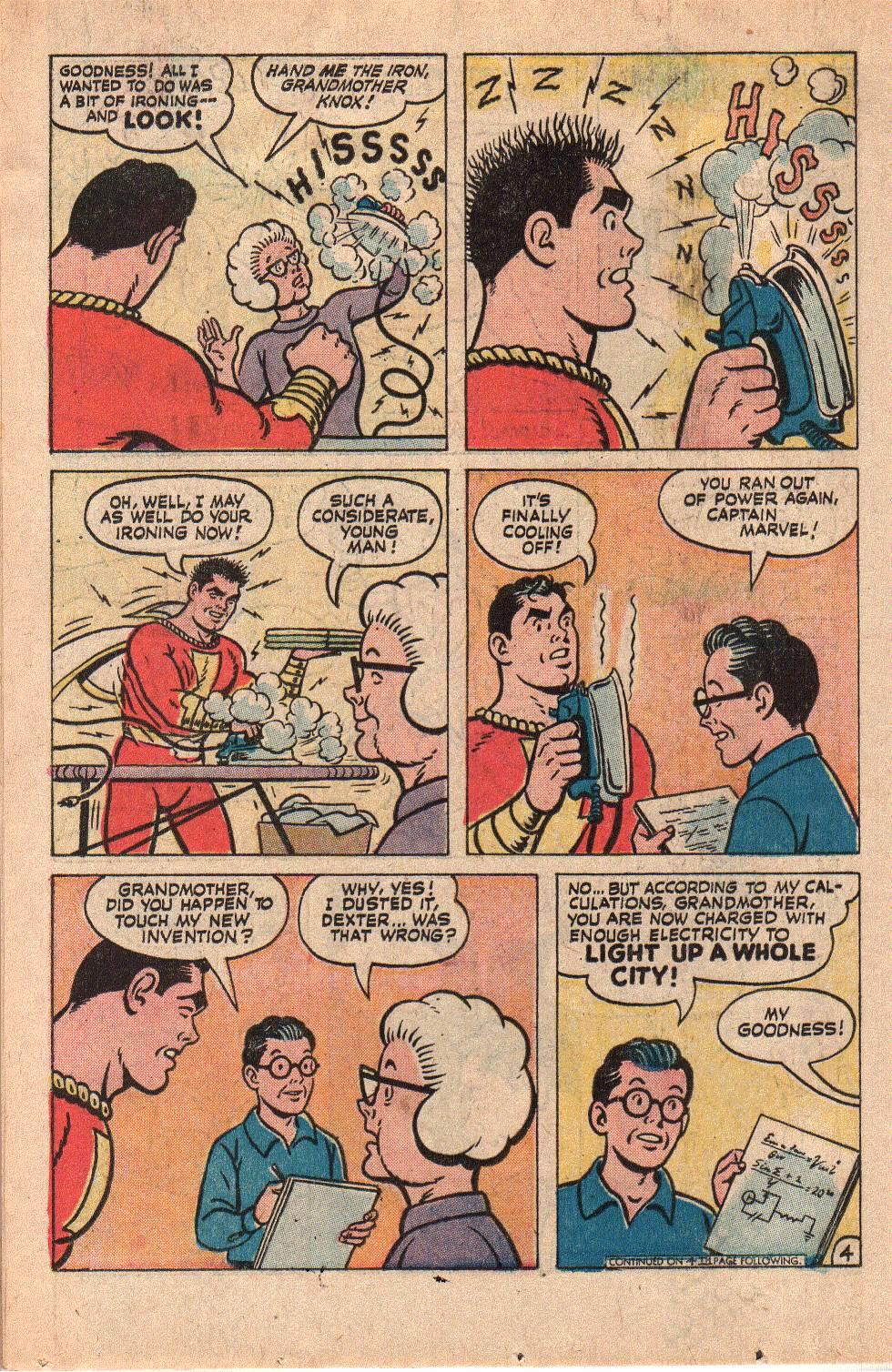 Read online Shazam! (1973) comic -  Issue #6 - 18