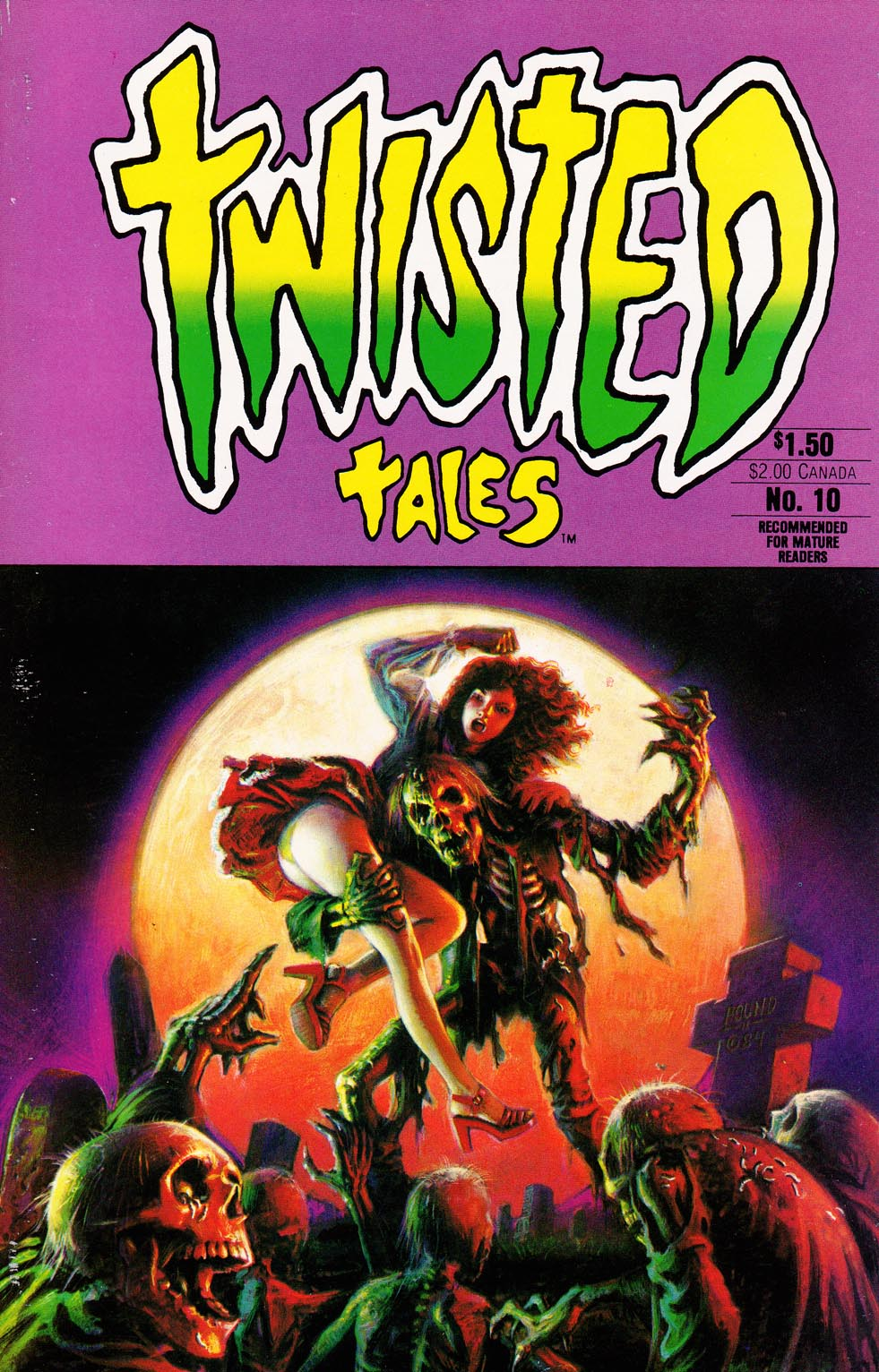 Read online Twisted Tales (1982) comic -  Issue #10 - 1