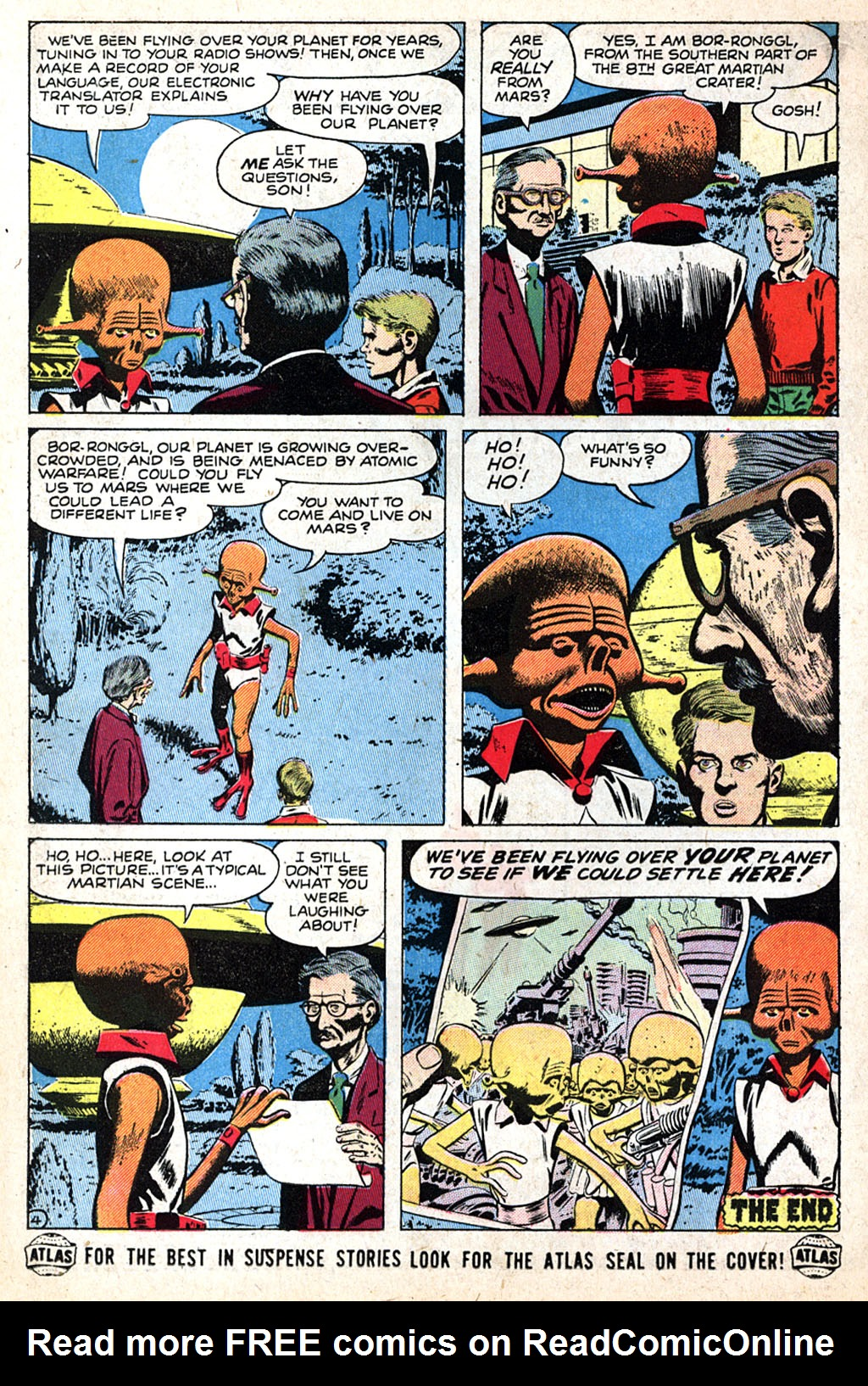 Read online Adventures into Weird Worlds comic -  Issue #17 - 14