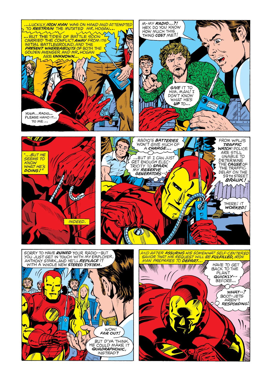 Read online Marvel Masterworks: The Invincible Iron Man comic -  Issue # TPB 11 (Part 1) - 68