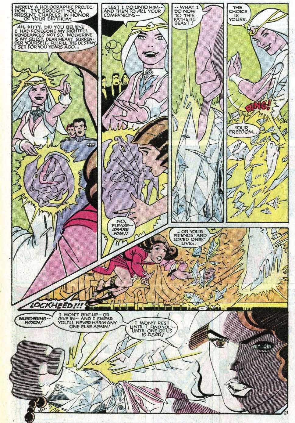 Read online Uncanny X-Men (1963) comic -  Issue # _Annual 8 - 26