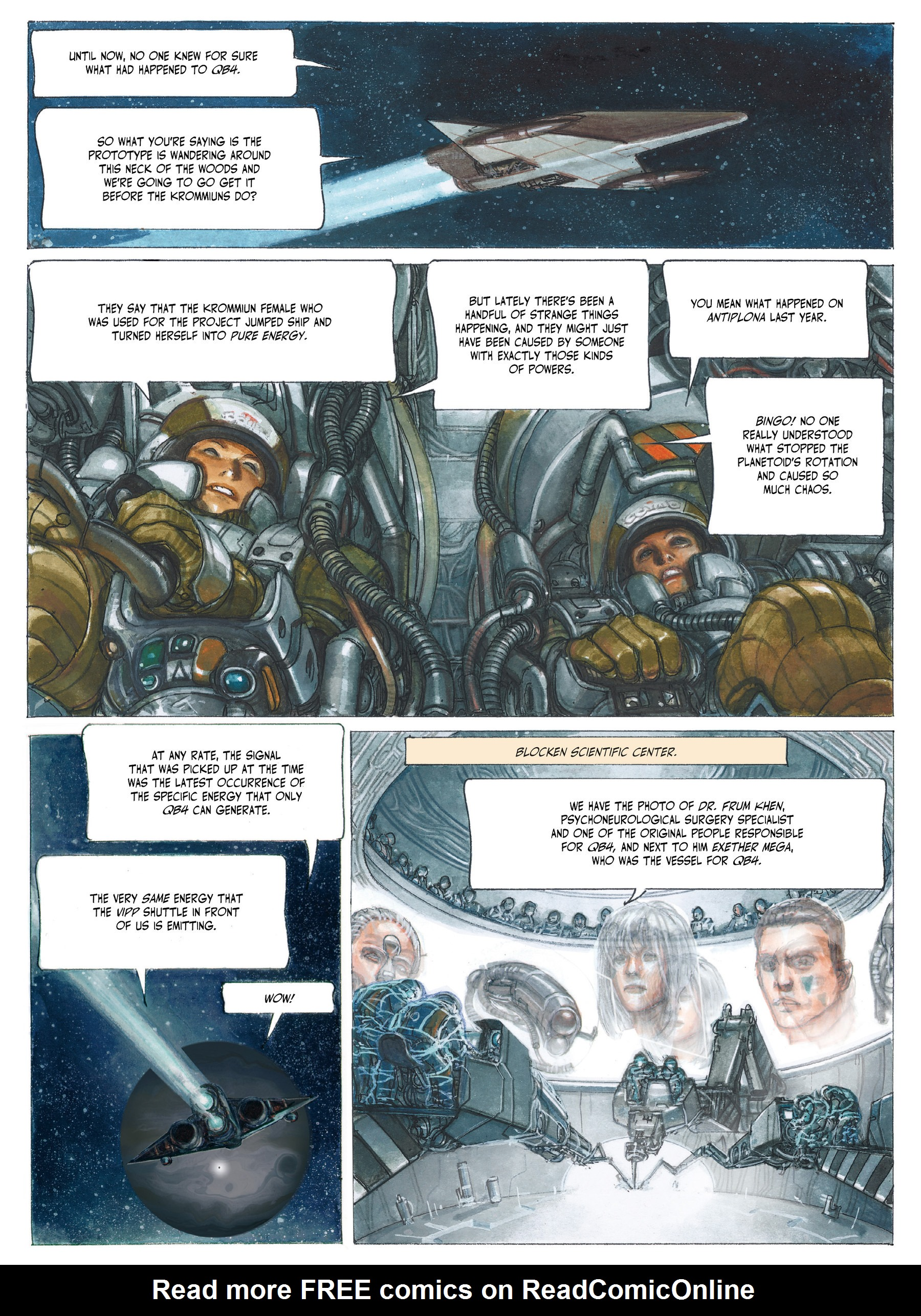 Read online The Fourth Power comic -  Issue #3 - 16