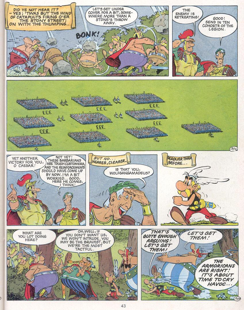 Read online Asterix comic -  Issue #24 - 40