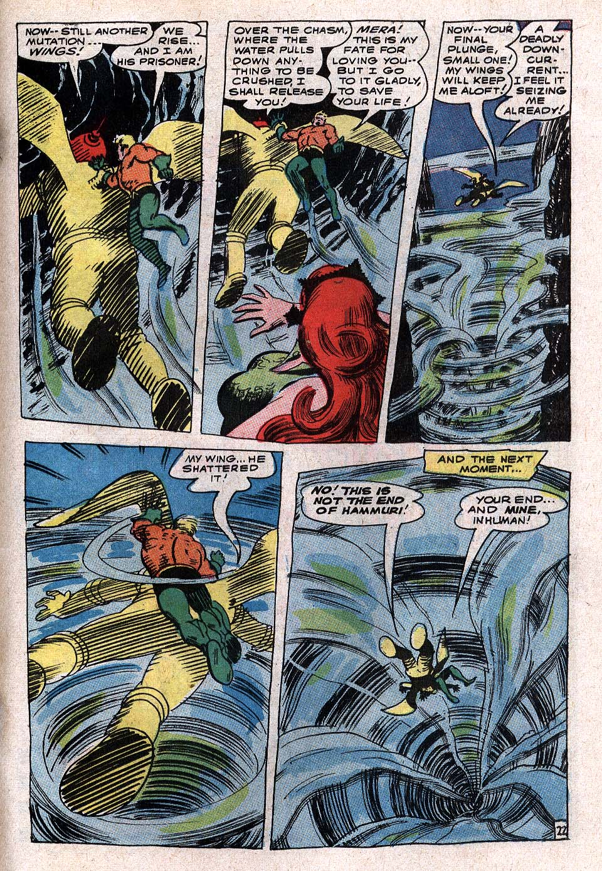 Read online Aquaman (1962) comic -  Issue #34 - 31
