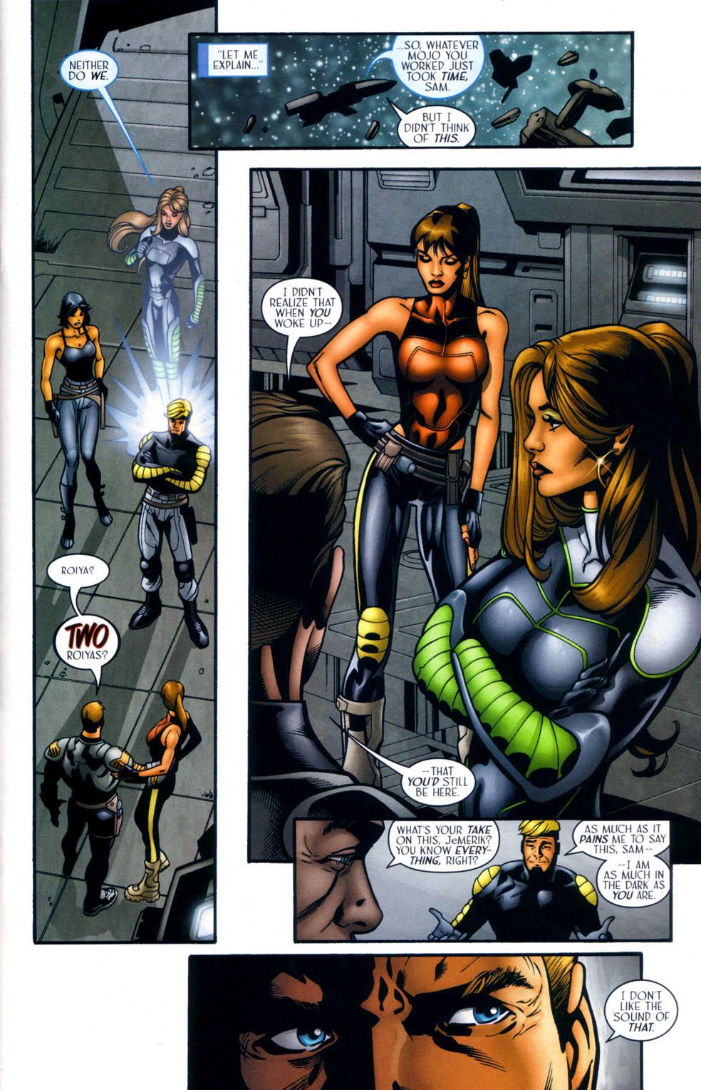 Read online Sigil (2000) comic -  Issue #33 - 8
