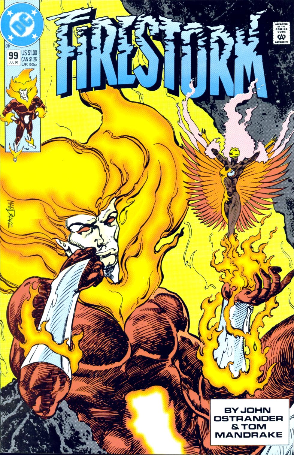 Firestorm, the Nuclear Man Issue #99 #35 - English 1