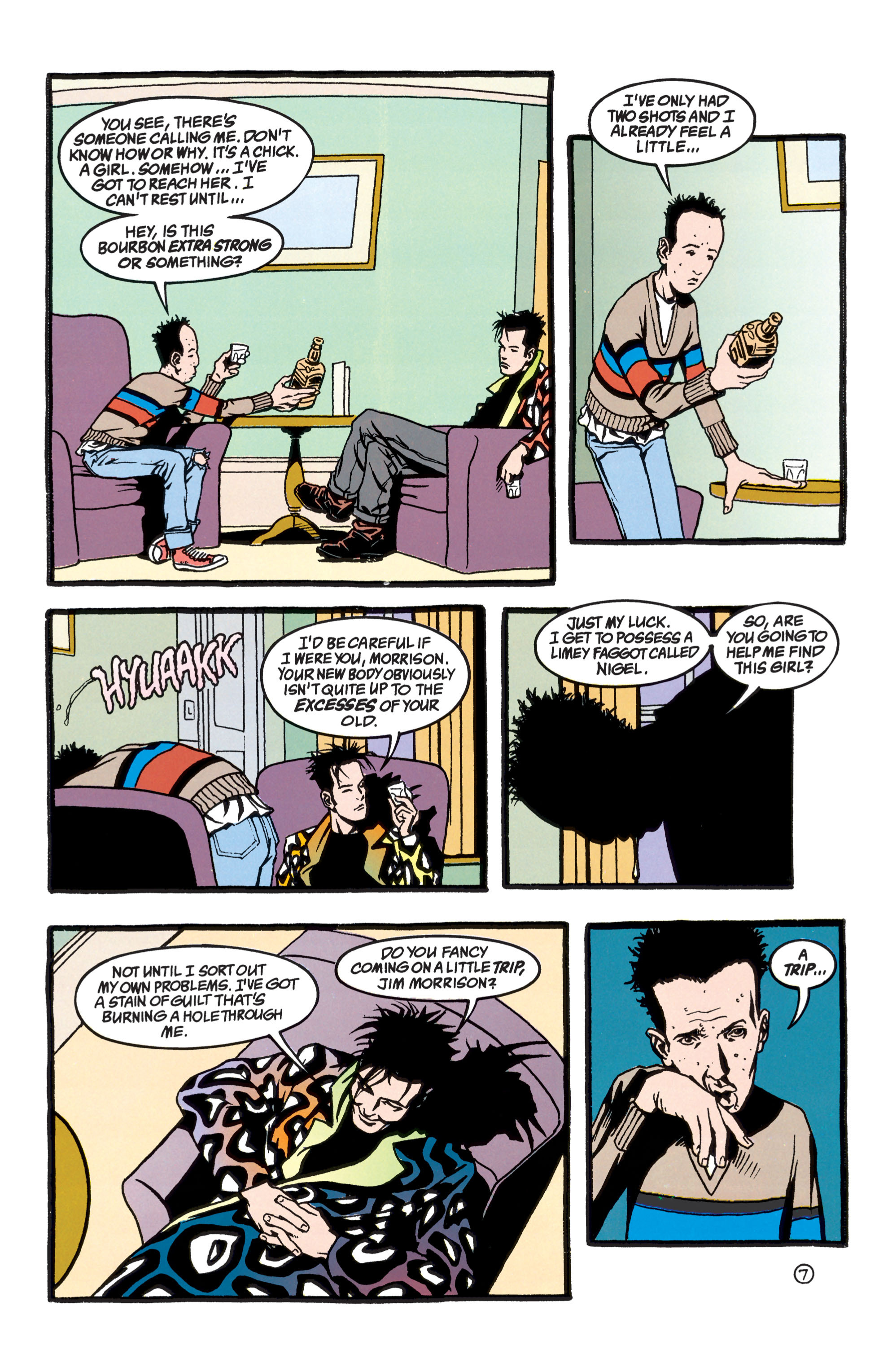 Read online Shade, the Changing Man comic -  Issue #40 - 8