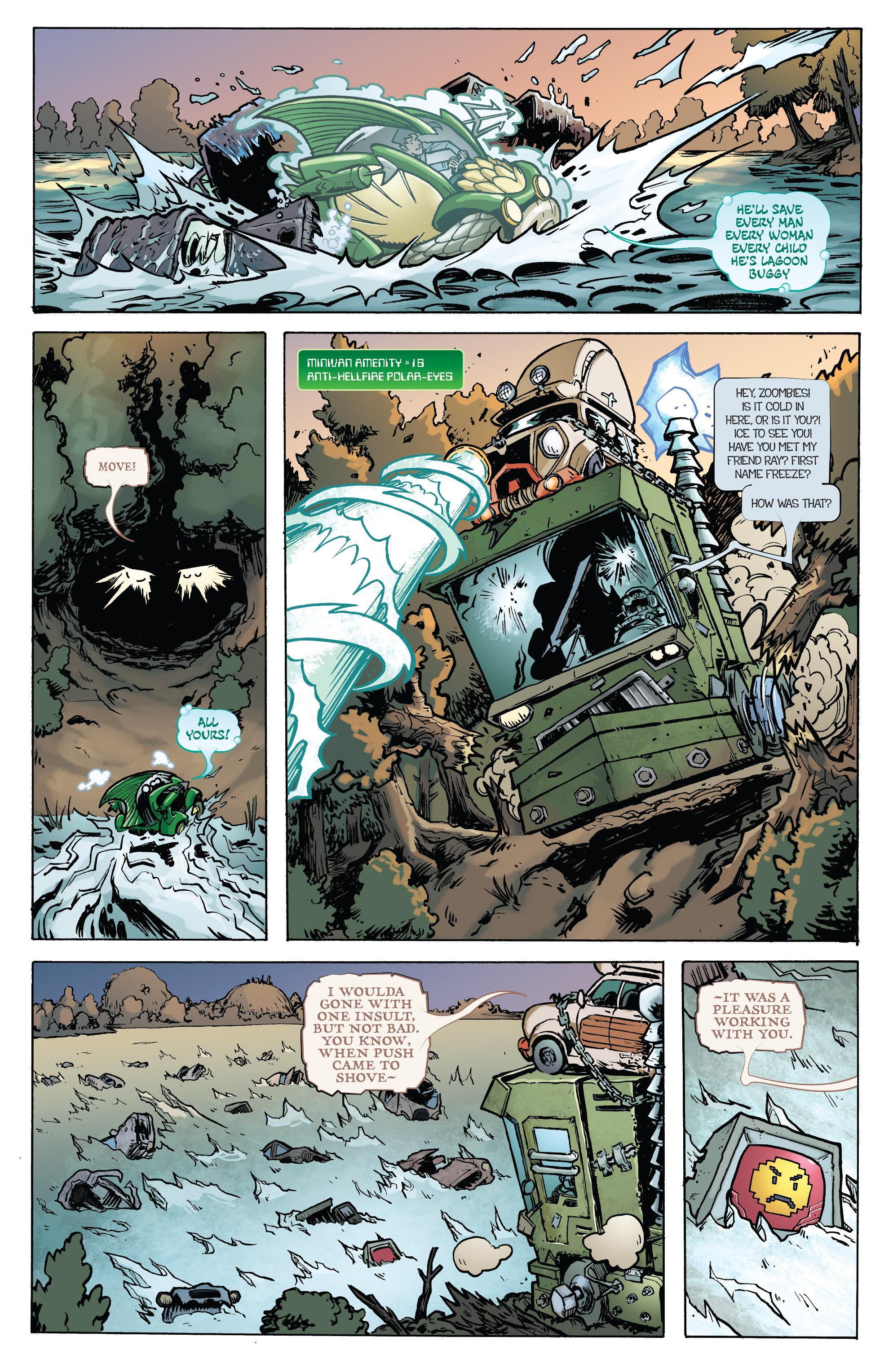 Read online Monster Motors: The Curse of Minivan Helsing comic -  Issue #2 - 20