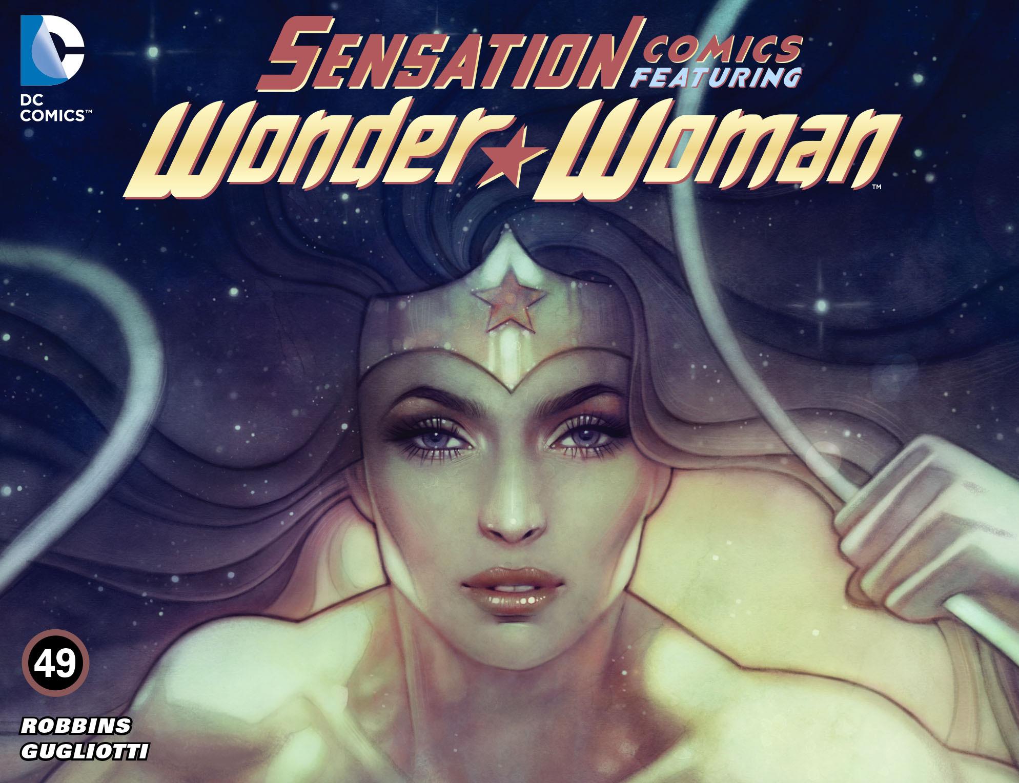 Read online Sensation Comics Featuring Wonder Woman comic -  Issue #49 - 1