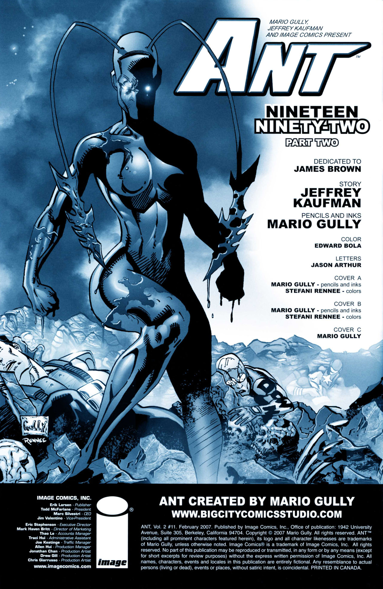 Read online Ant comic -  Issue #11 - 3