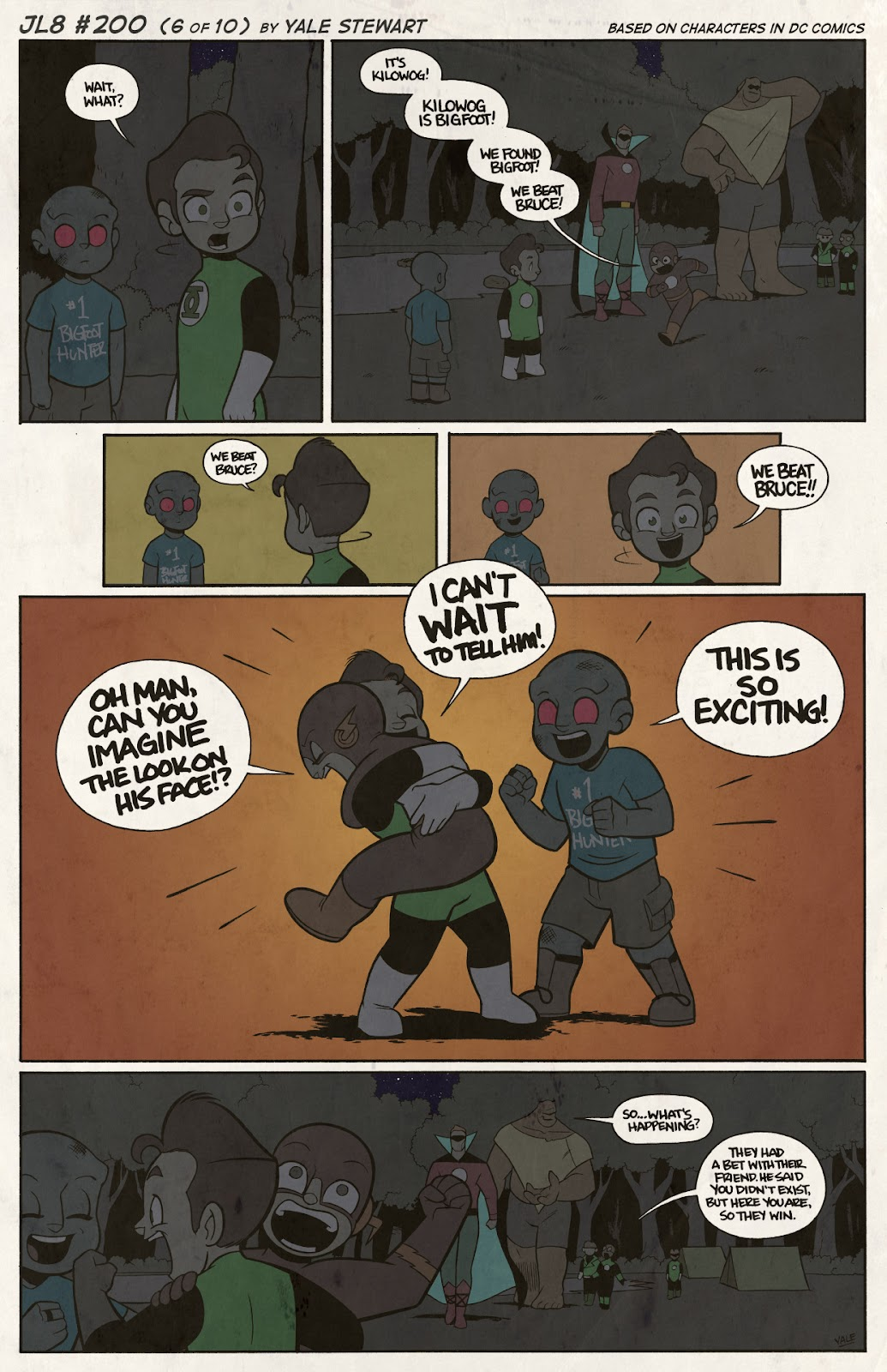 Read online JL8 – The Complete Collection comic -  Issue # TPB (Part 2) - 29