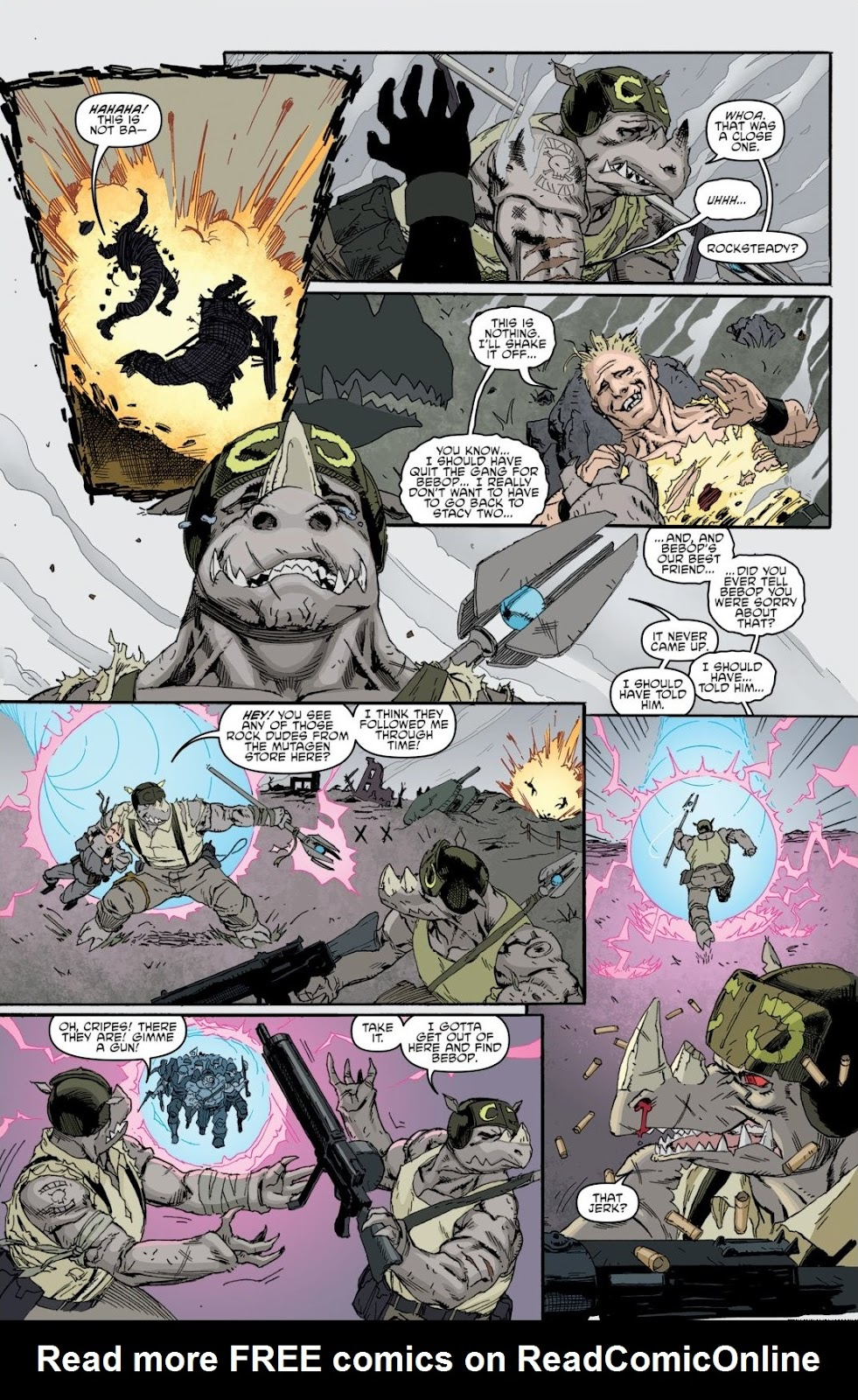 Read online Teenage Mutant Ninja Turtles: The IDW Collection comic -  Issue # TPB 8 (Part 1) - 80