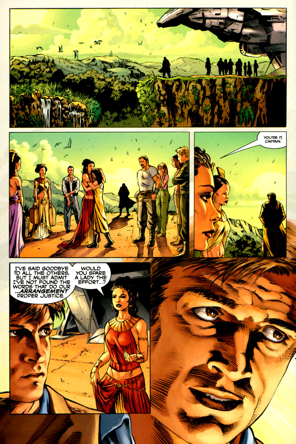 Read online Serenity comic -  Issue #3 - 22
