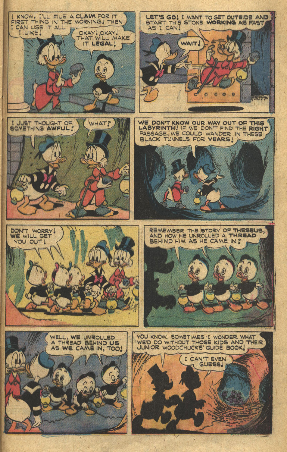 Read online Uncle Scrooge (1953) comic -  Issue #132 - 25