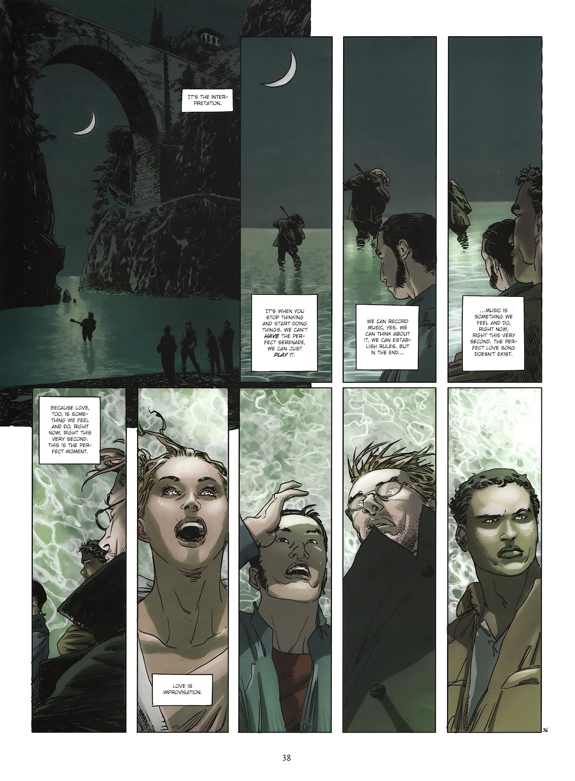 Read online Cutting Edge (2013) comic -  Issue #2 - 37