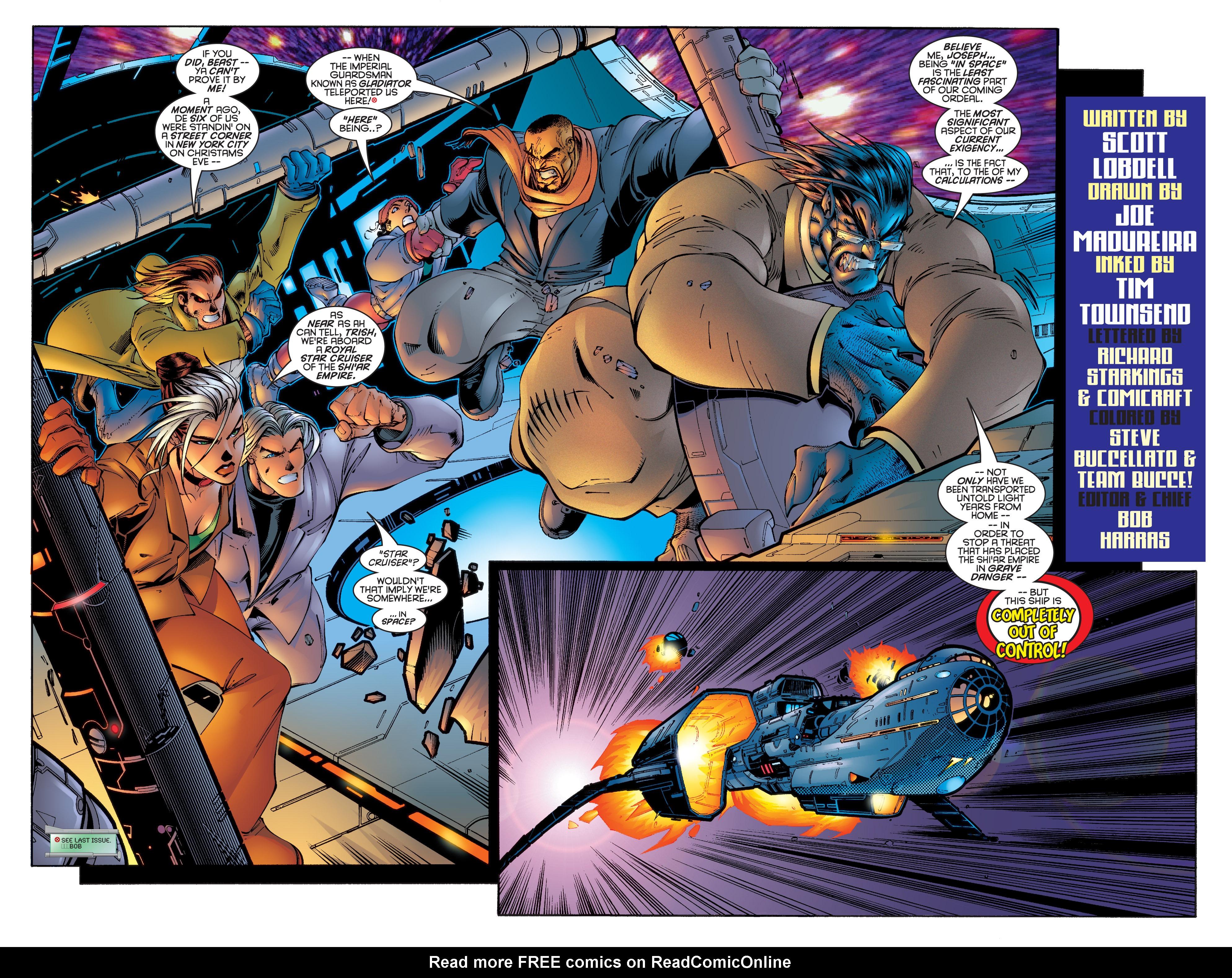 Read online Uncanny X-Men (1963) comic -  Issue #342 - 3