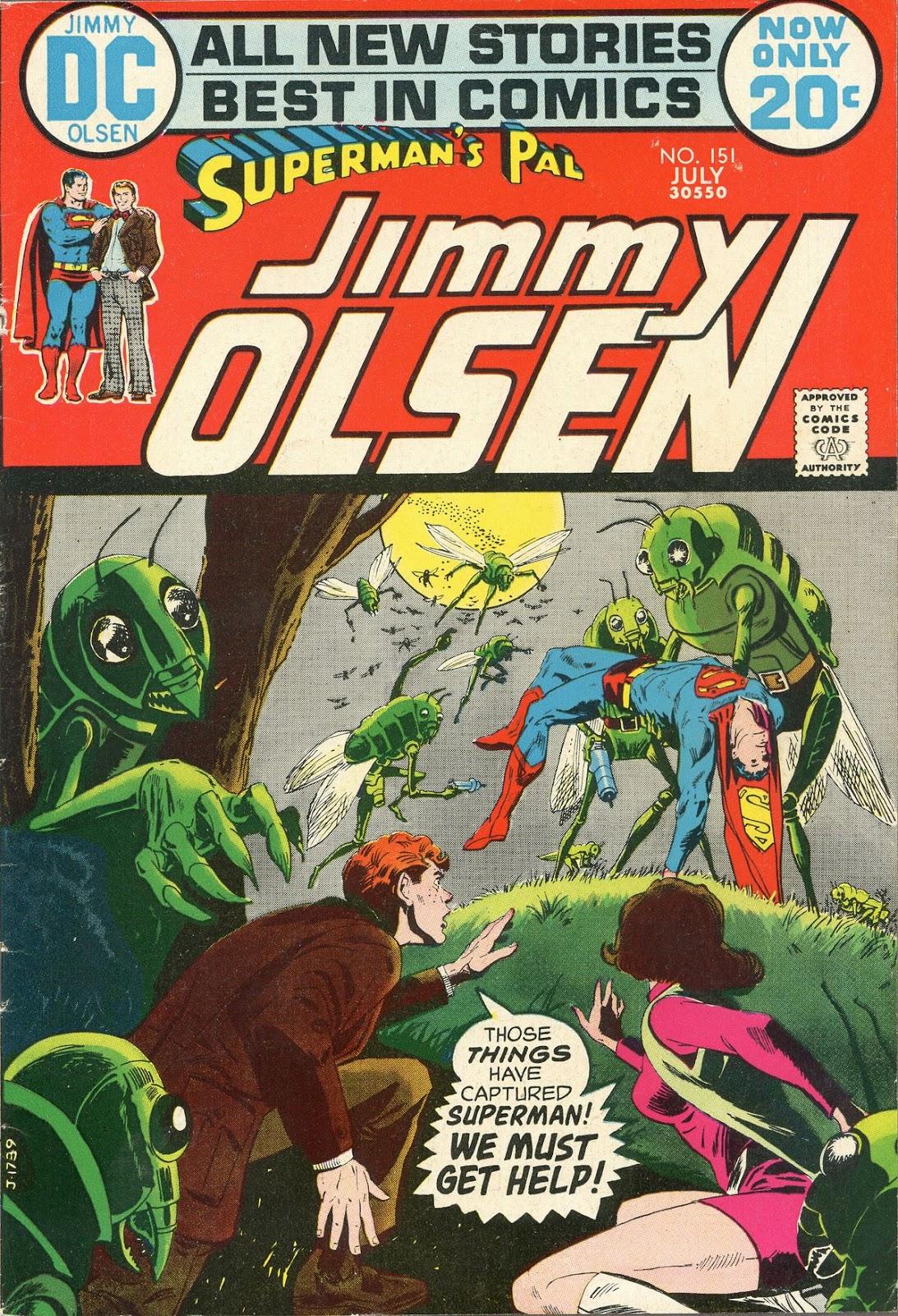 Supermans Pal Jimmy Olsen (1954) 151 Page 1