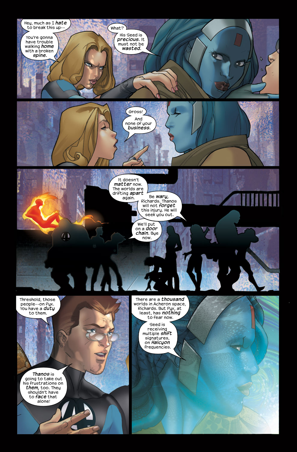 Read online Ultimate Fantastic Four (2004) comic -  Issue #38 - 22