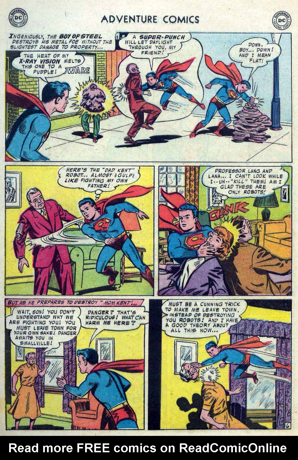 Read online Adventure Comics (1938) comic -  Issue #237 - 8